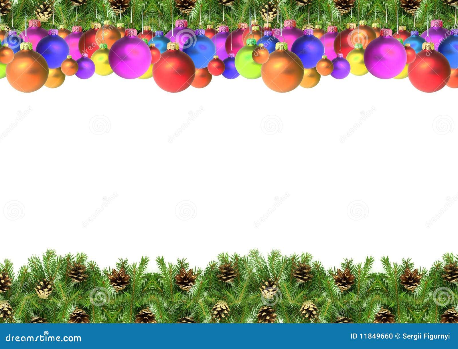 weihnachtsrahmen stockfoto bild von weihnachten zweige. Black Bedroom Furniture Sets. Home Design Ideas