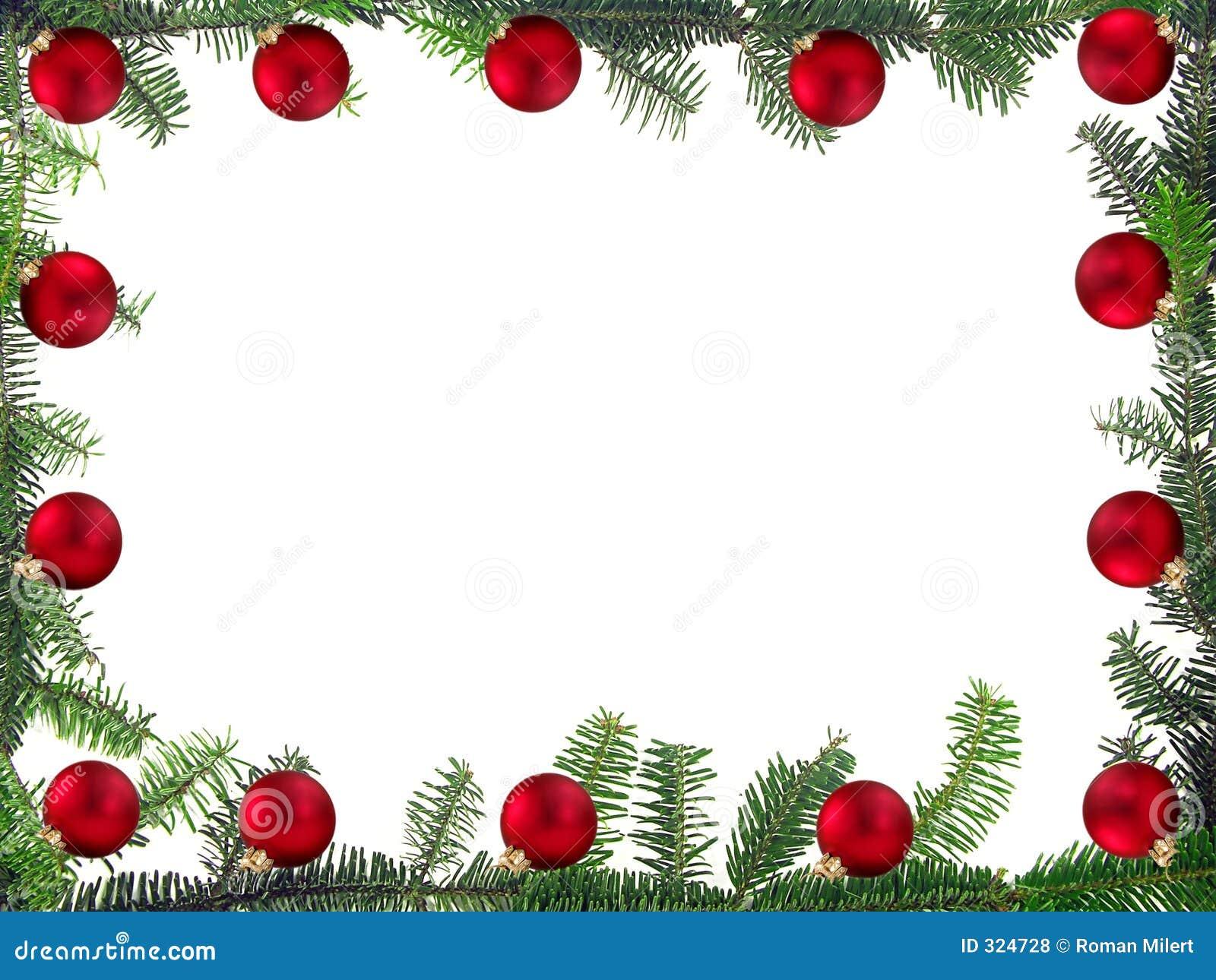 weihnachtsrahmen stock abbildung illustration von feier. Black Bedroom Furniture Sets. Home Design Ideas