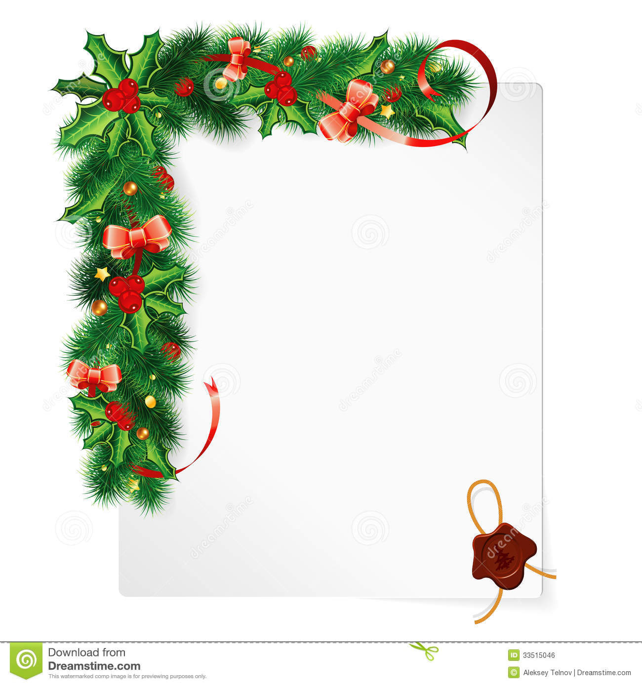 weihnachtsrahmen vektor abbildung illustration von holly berry clip art free black while holly berry clipart image