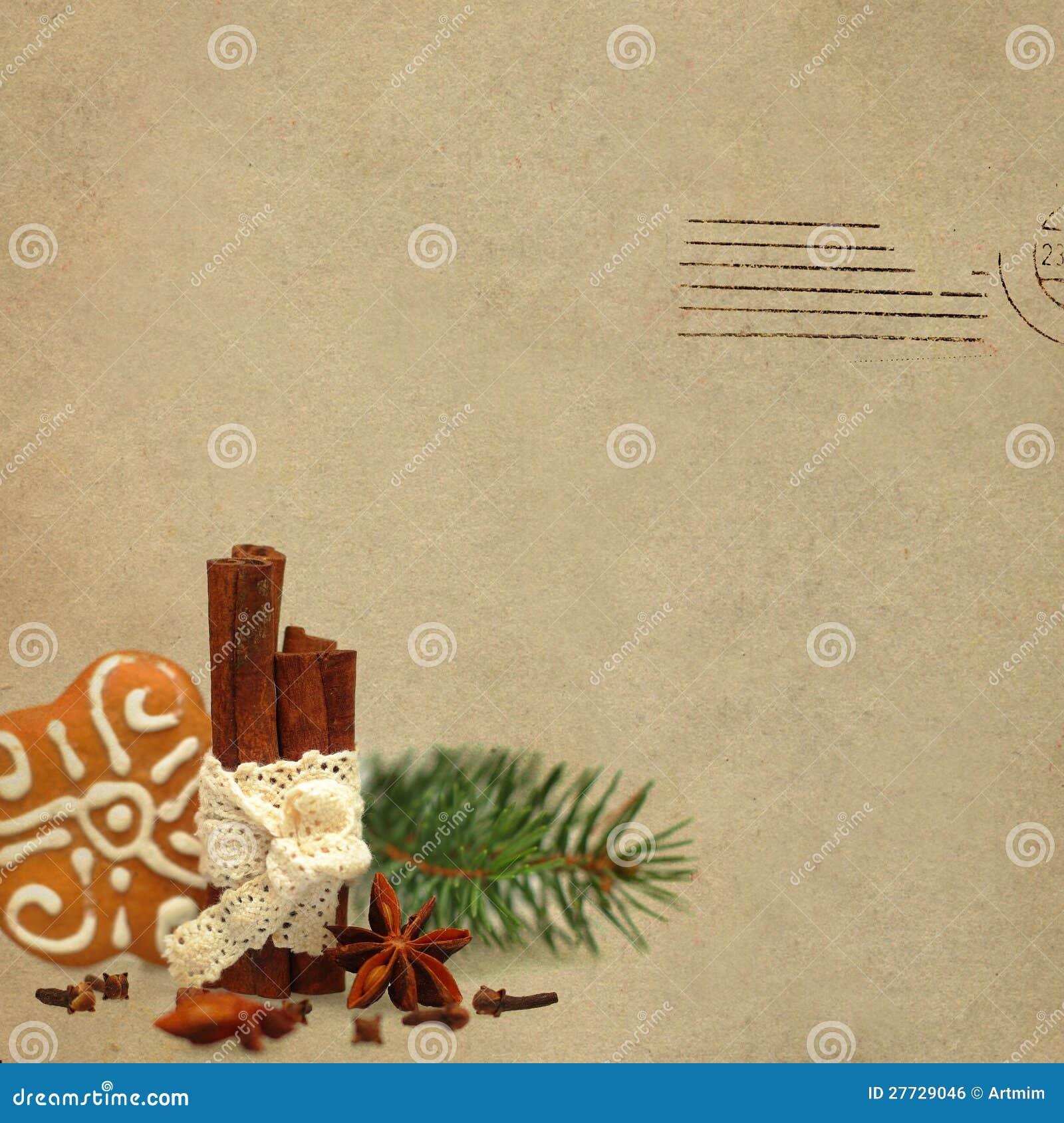 WeihnachtsRetro- Hintergrund
