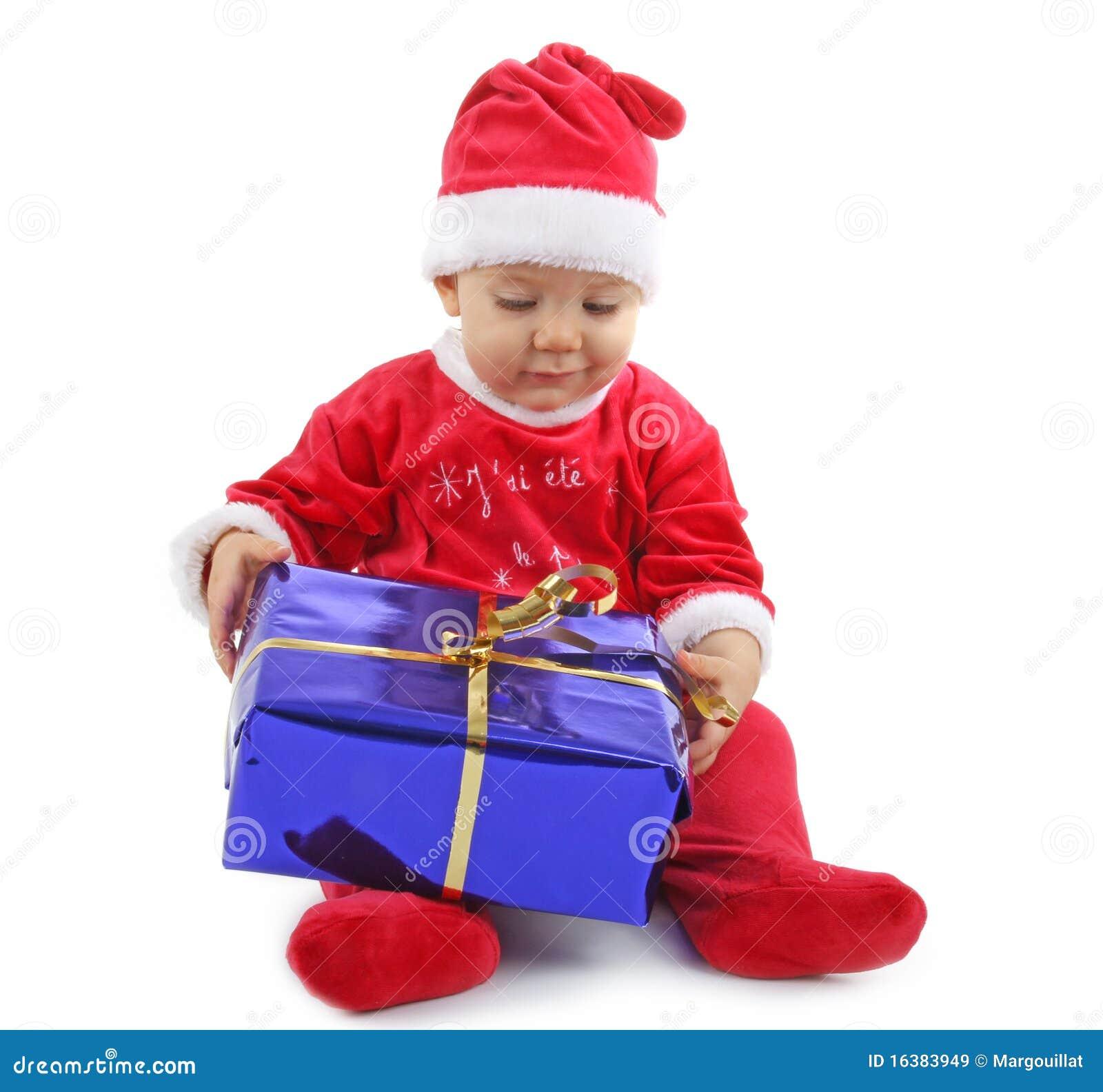 Weihnachtsschätzchen mit Geschenk