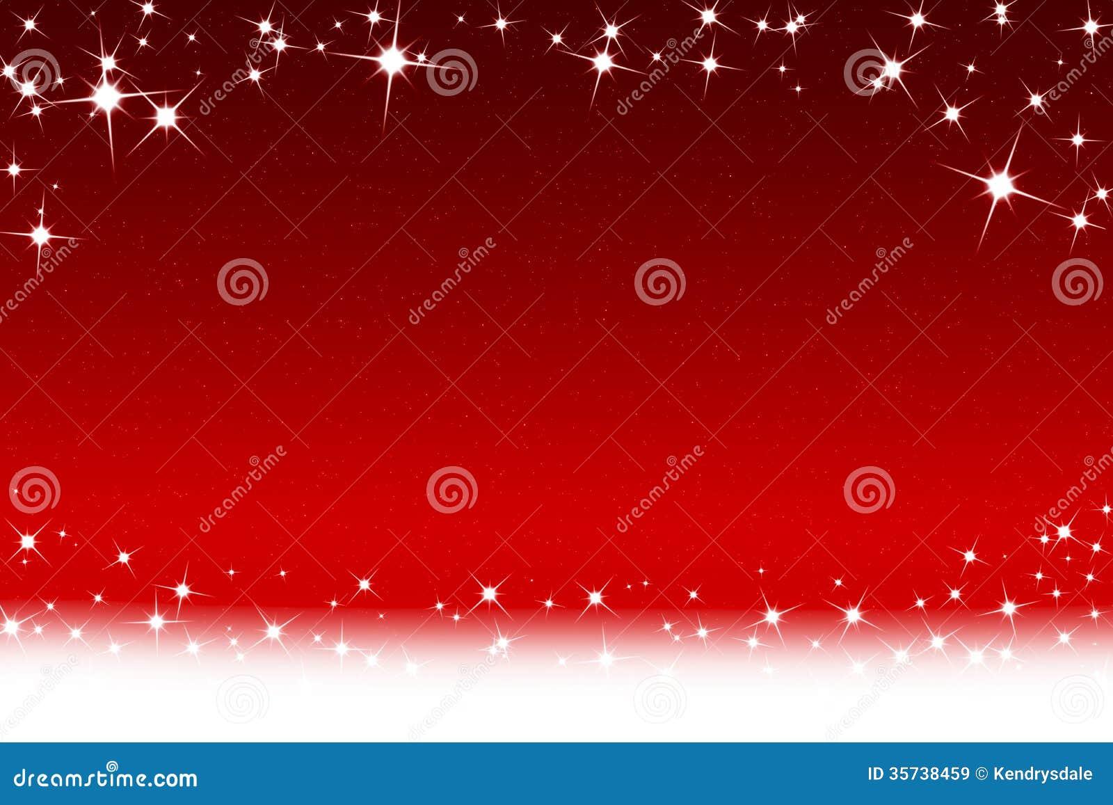 Weihnachtsstern-und -schneeflocken-roter Weißer Hintergrund Stock ...
