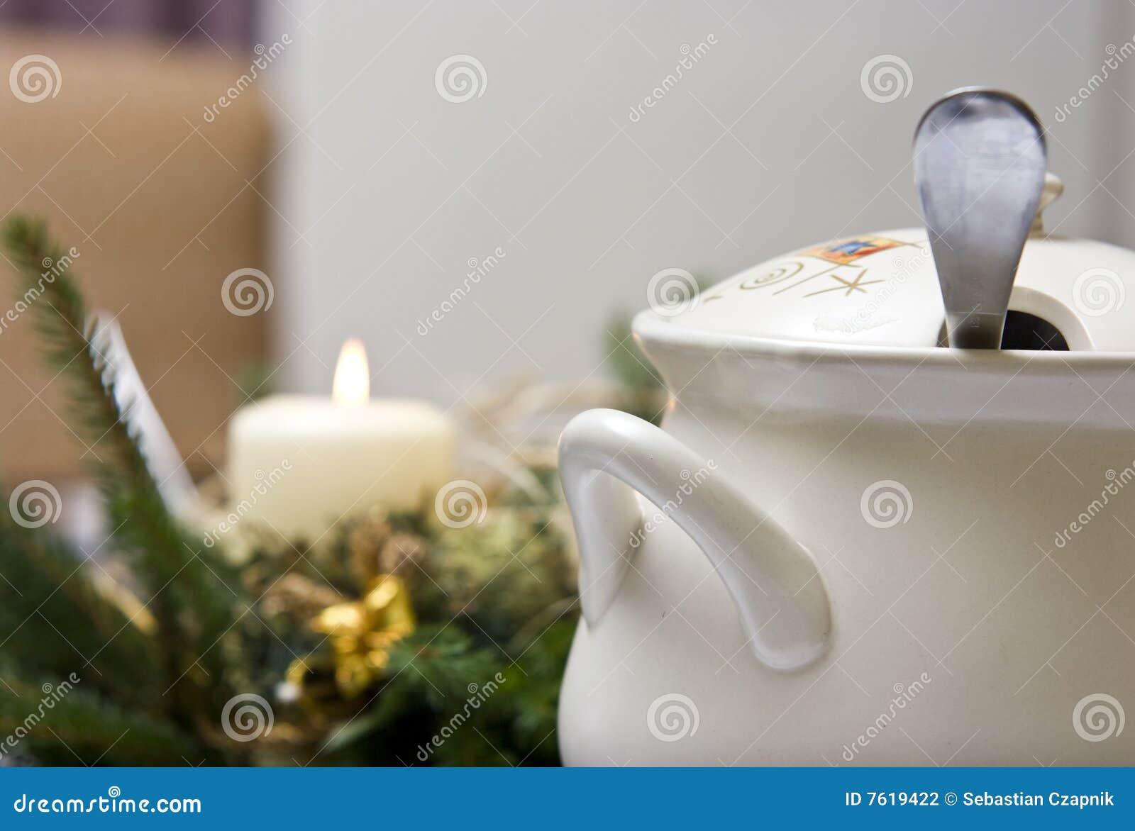 Weihnachtssuppe stockfoto. Bild von beet, vorabend, potentiometer ...