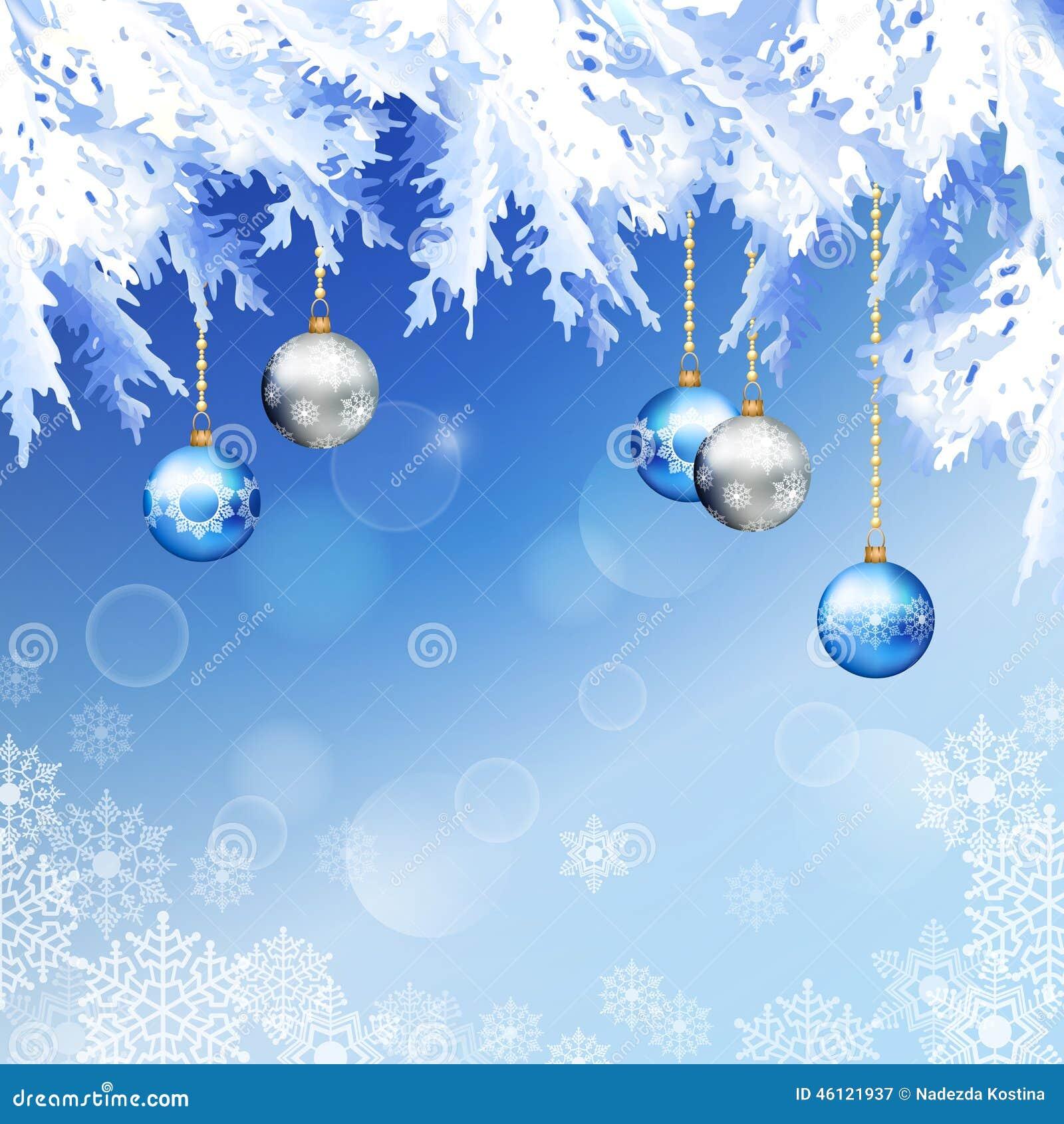 Weihnachtstannen-Baumast-Vektor-Hintergrund