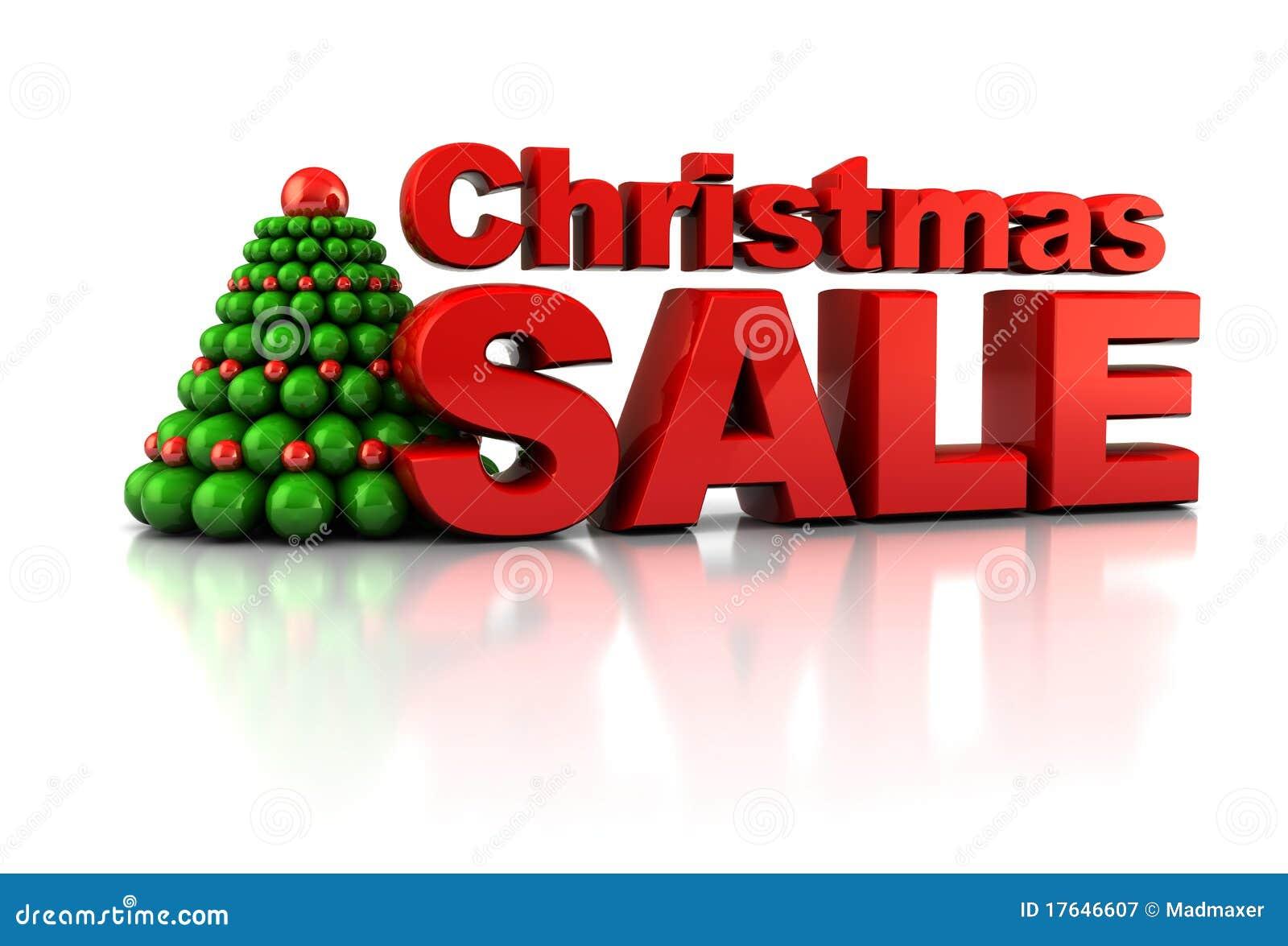 Weihnachtsverkauf stock abbildung. Illustration von dekoration ...