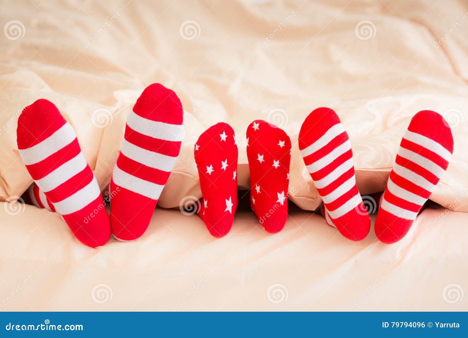 Weihnachtsweihnachtsfamilienurlaub-Winter