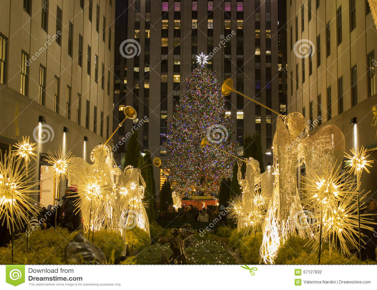 weihnachtszeit in new york weihnachtsbaum rockfeller. Black Bedroom Furniture Sets. Home Design Ideas