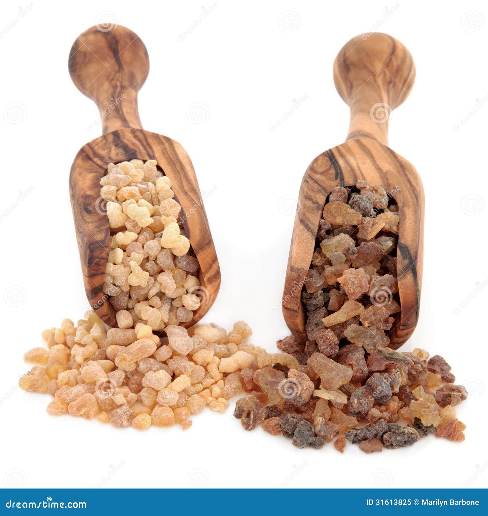 Weihrauch und Myrrhe