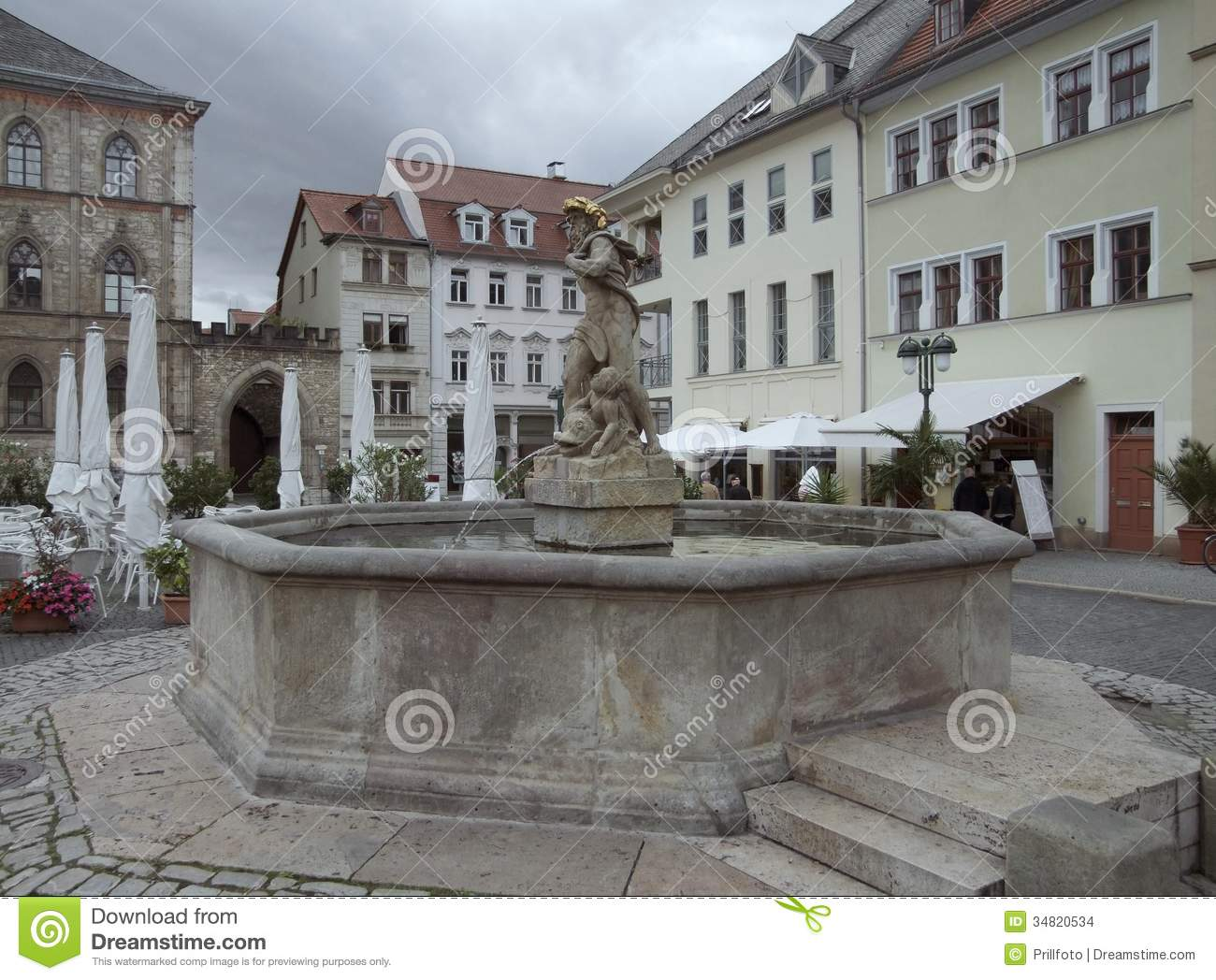 Weimar Germany  city photos : City view of Weimar, a city in Thuringia Germany .
