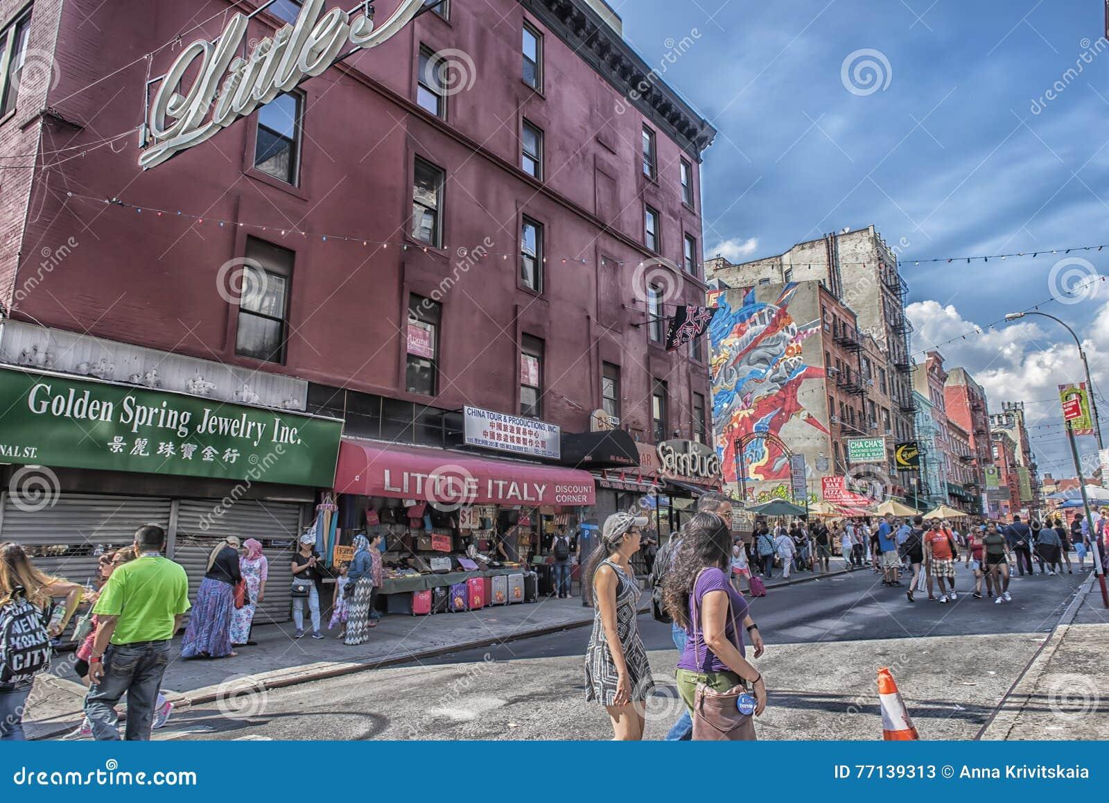 Weinig Italië, Manhattan, New York, Verenigde Staten