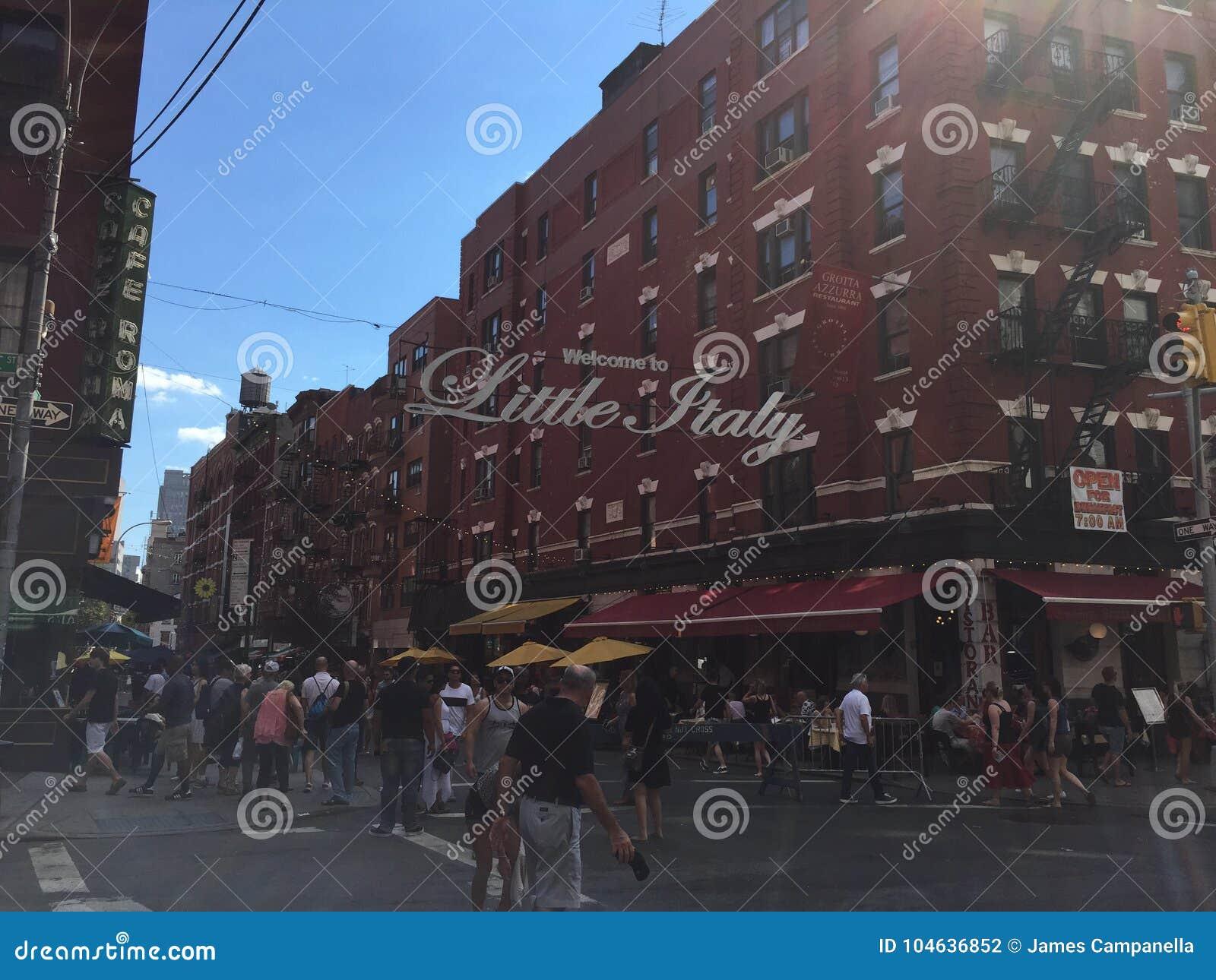 Download Weinig Italië New York redactionele fotografie. Afbeelding bestaande uit nieuw - 104636852