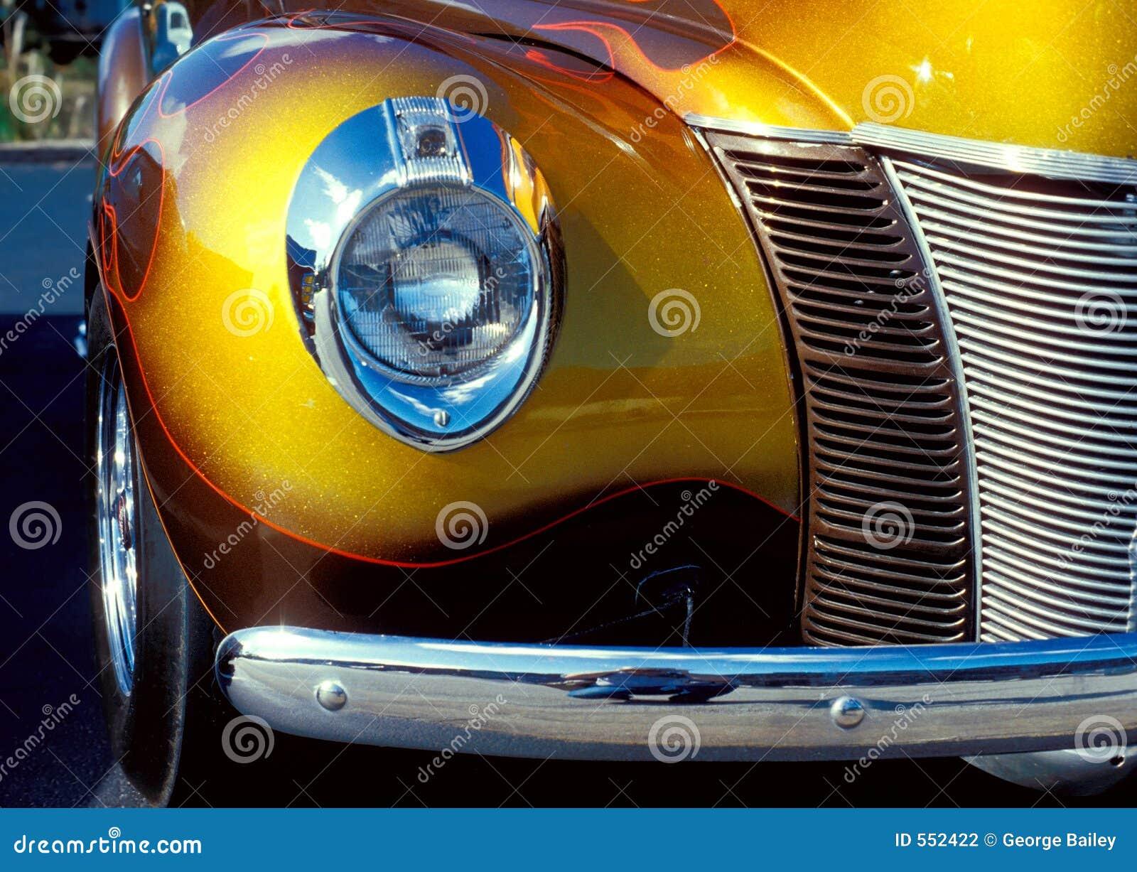 Weinlese-Automobil