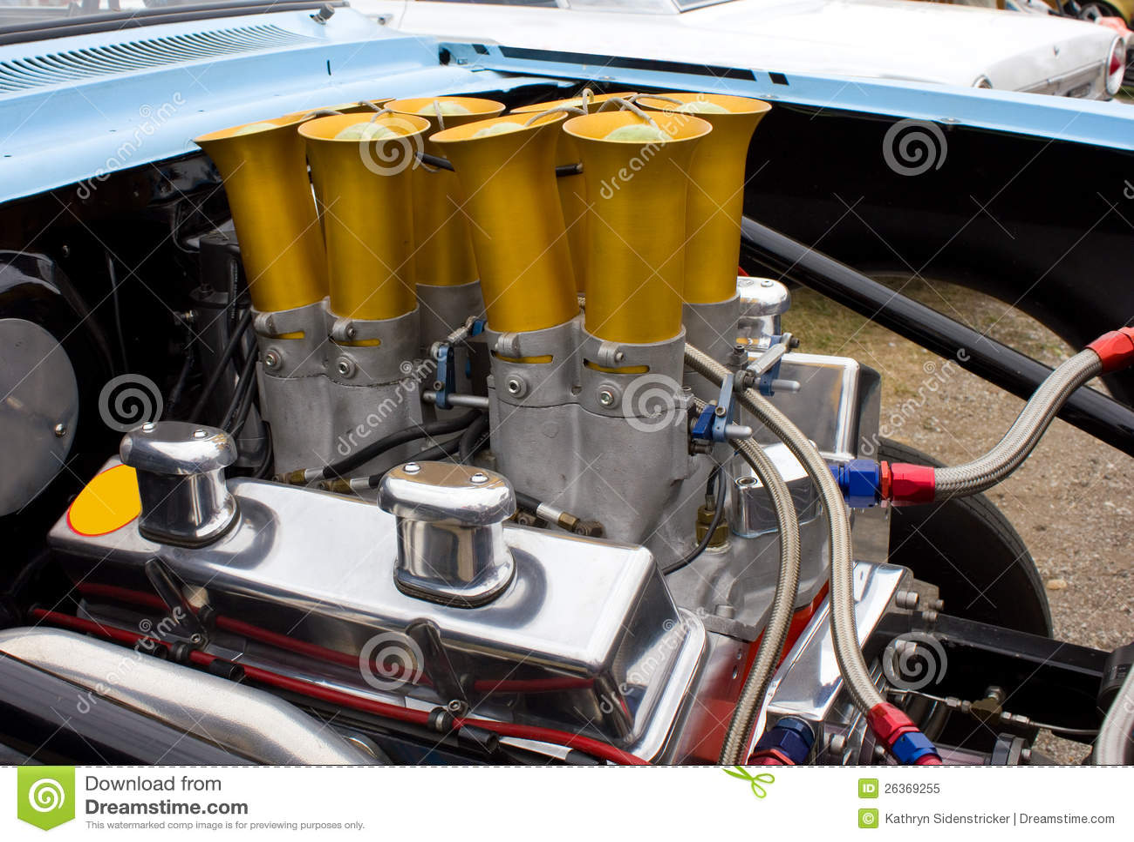 Weinlese Chevy Chevrolet Motor 350