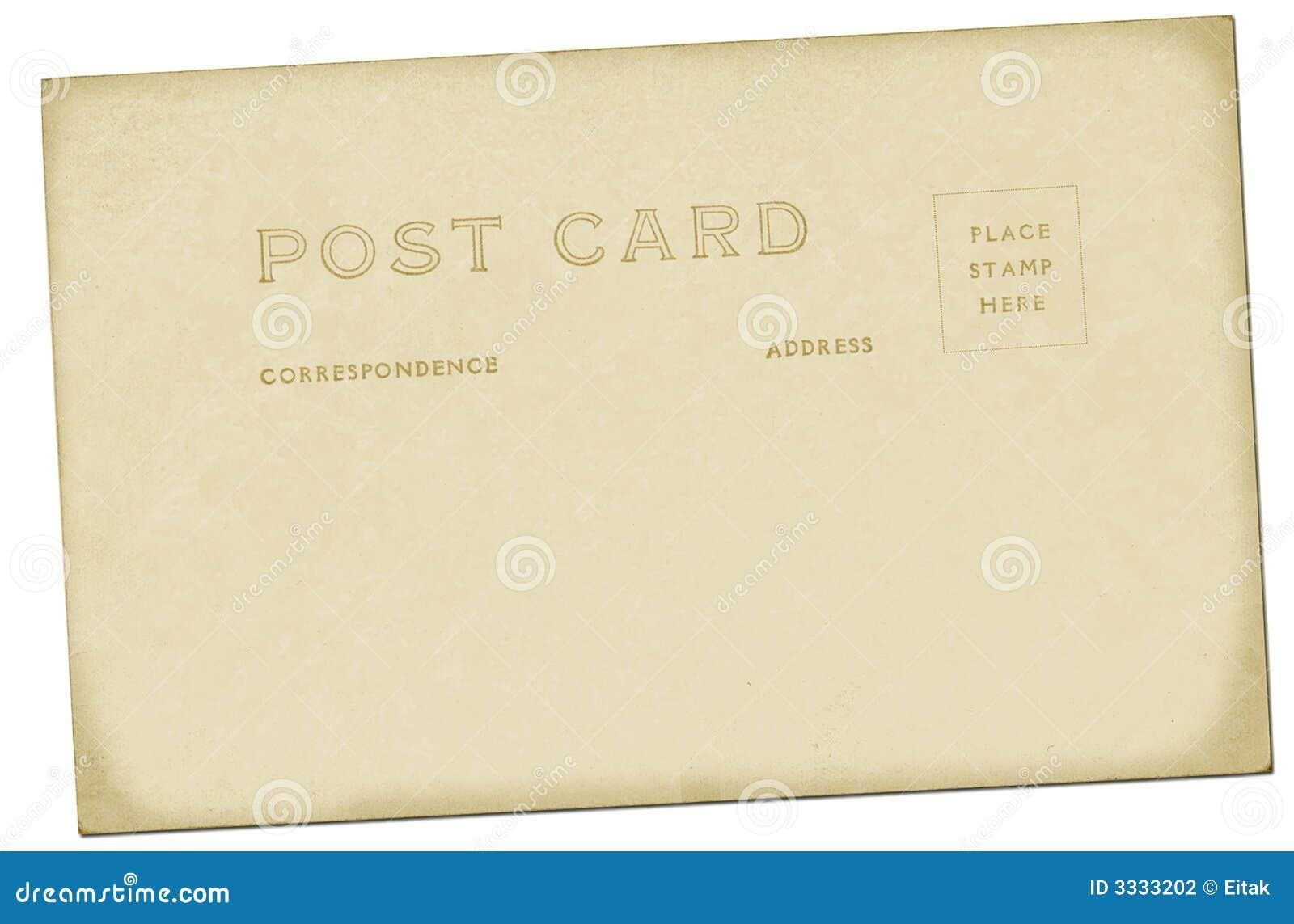 Weinlese-Postkarte