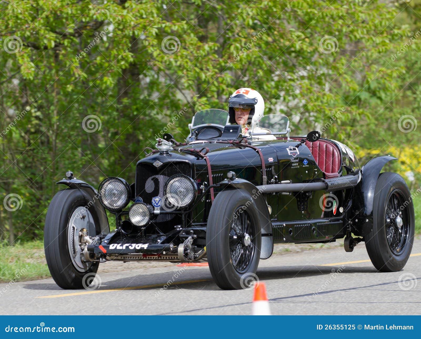 Weinlese-Rennwagen Riley-Drehzahl Adelphina von 1936
