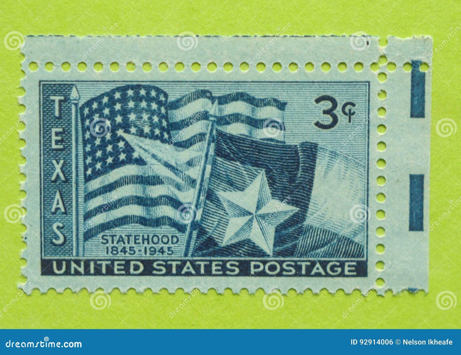 Weinlese USA-Briefmarke