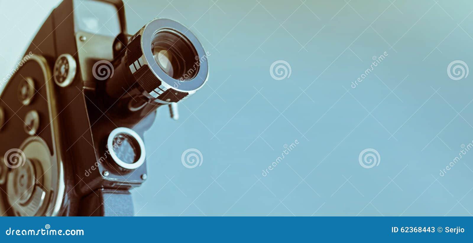 Weinleseentfernungsmesserkamera getrennt über Weiß