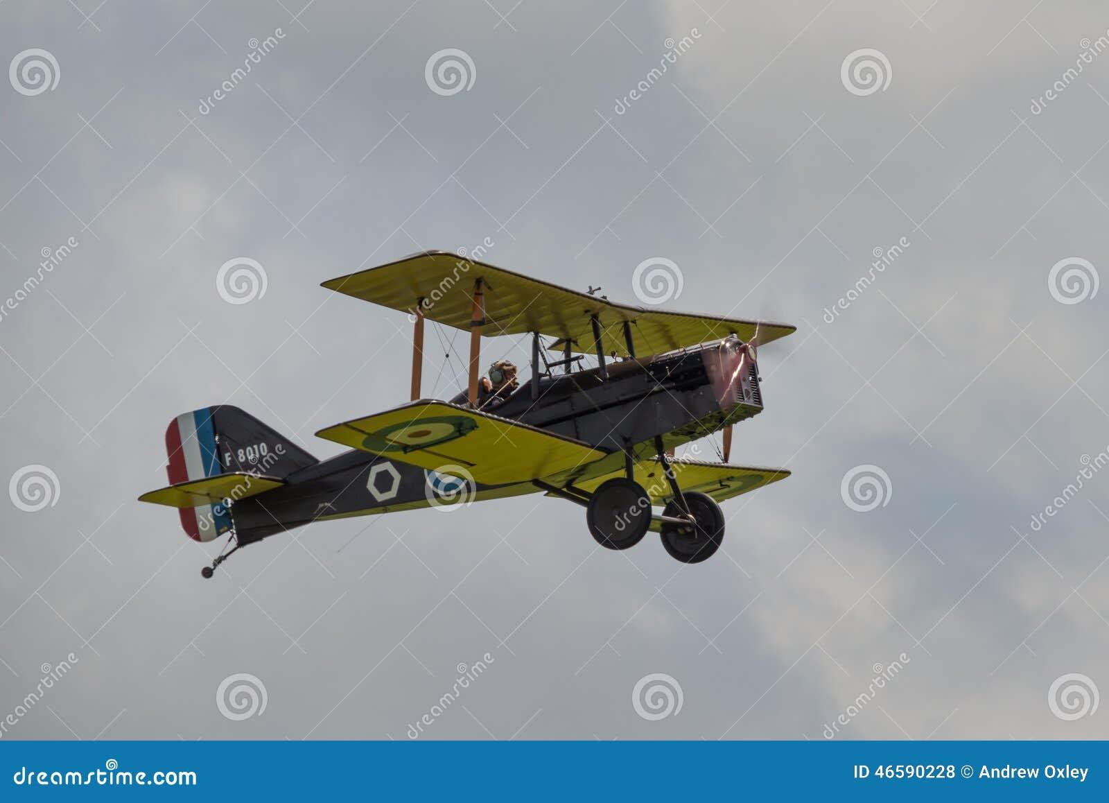Weinlesekampfflugzeug des R.A.F. SE5a