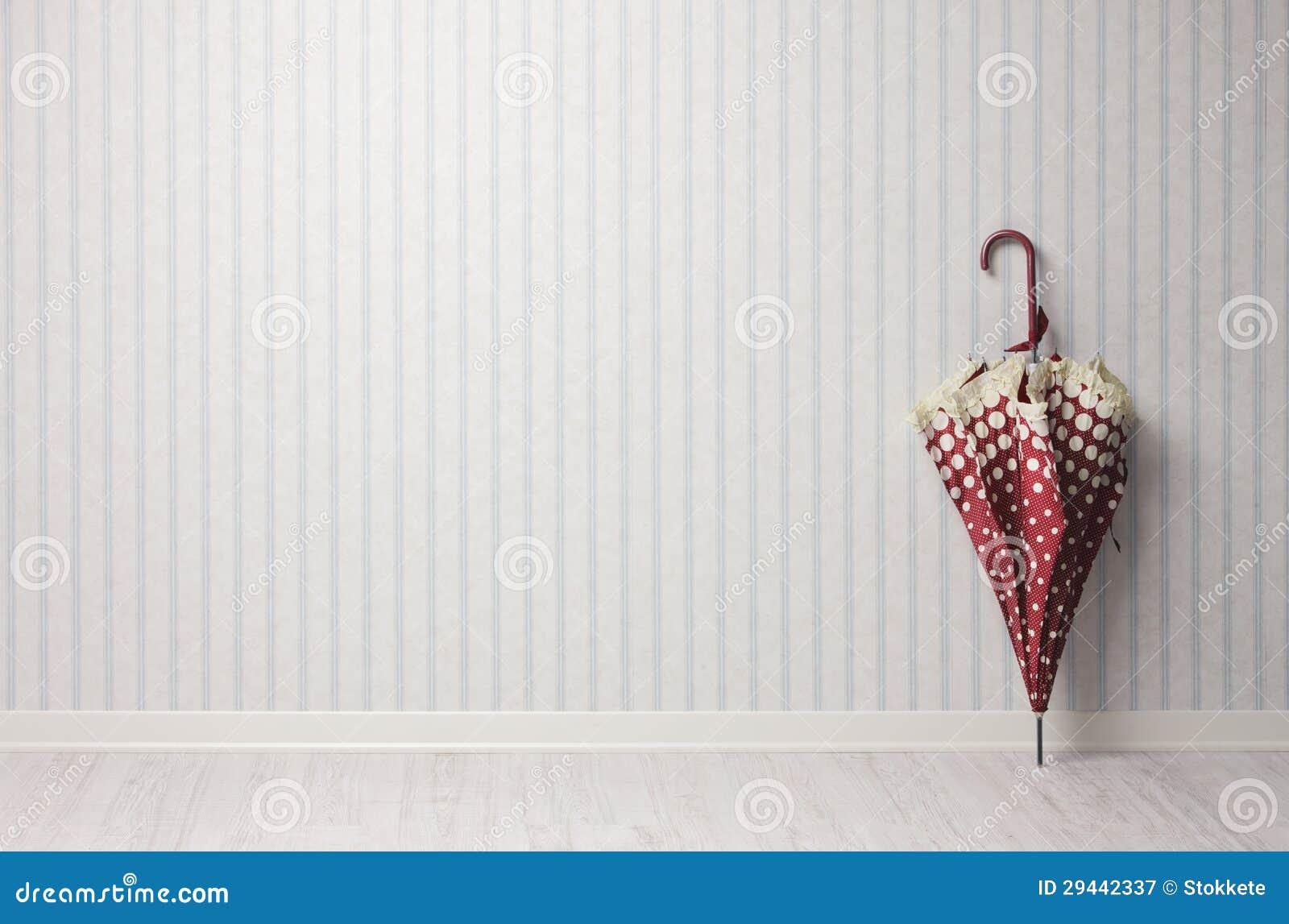 Weinleseregenschirm