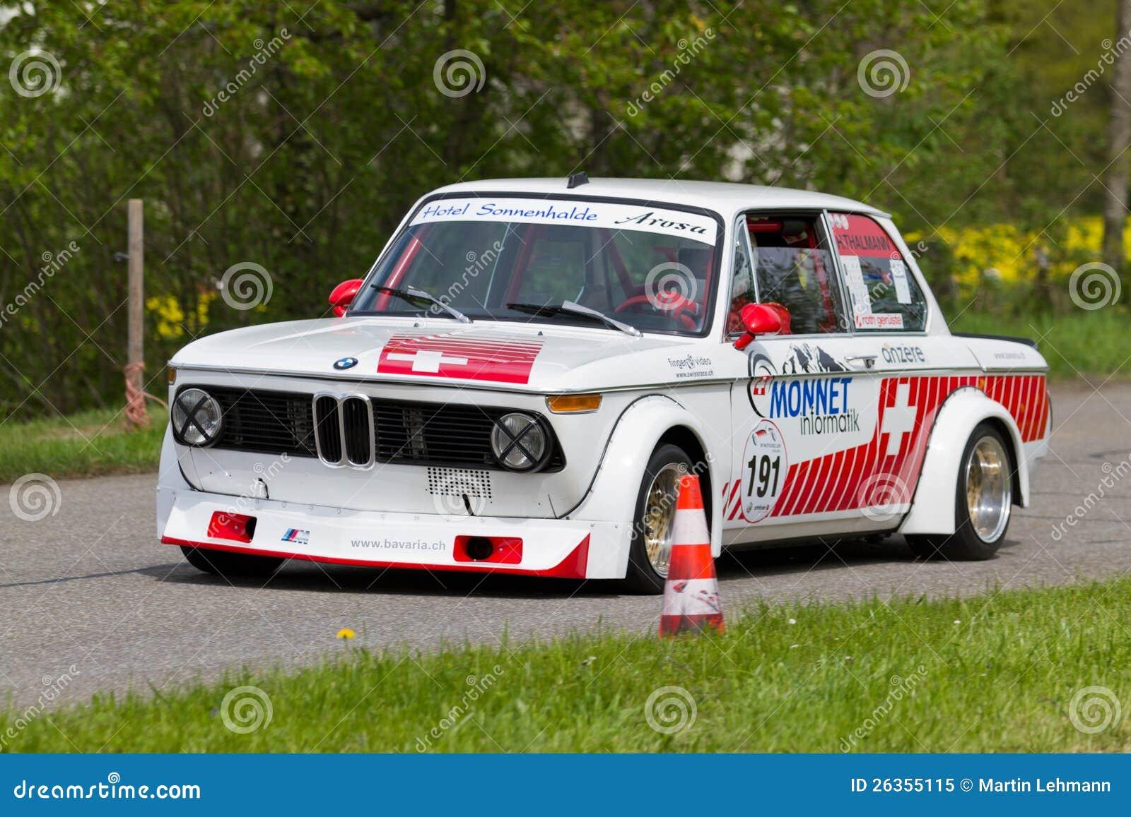 Weinleserennen-Reisenauto BMW Tii 2002 von 1972