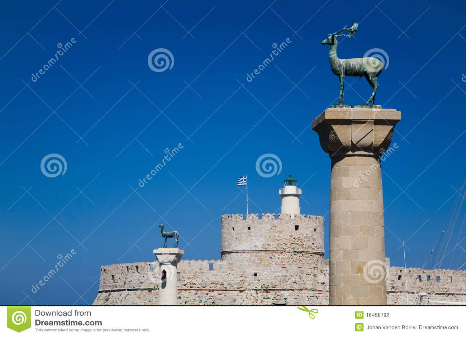 Wejściowy schronienia latarni morskiej Nicholas Rhodes st