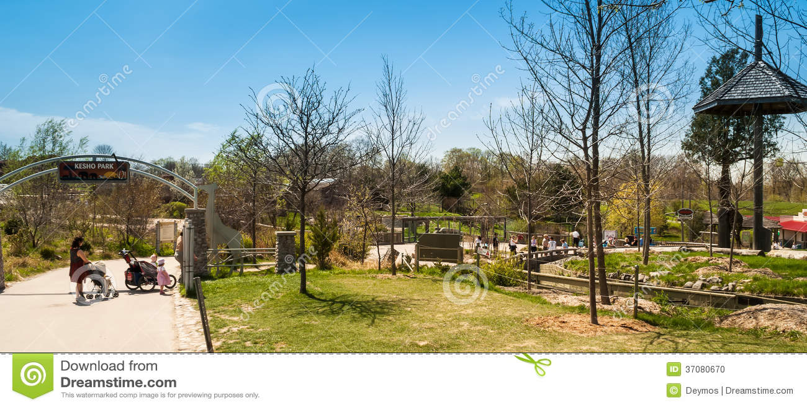 Download Wejście Kesho Park W Toronto Zoo Obraz Editorial - Obraz złożonej z wejście, północ: 37080670