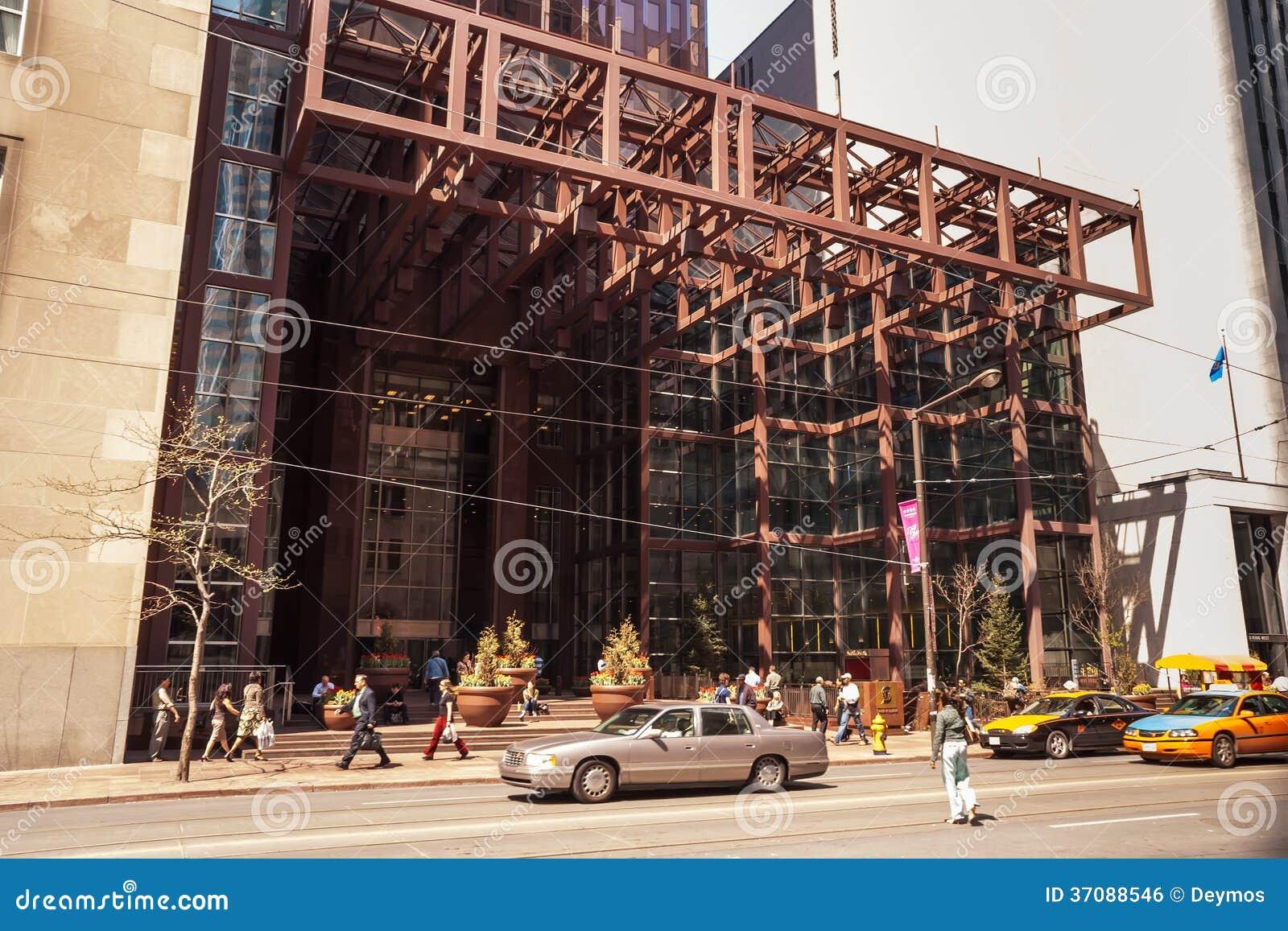 Download Wejście Scotia Placu Wierza W Toronto Zdjęcie Editorial - Obraz złożonej z skyscraper, kapitał: 37088546