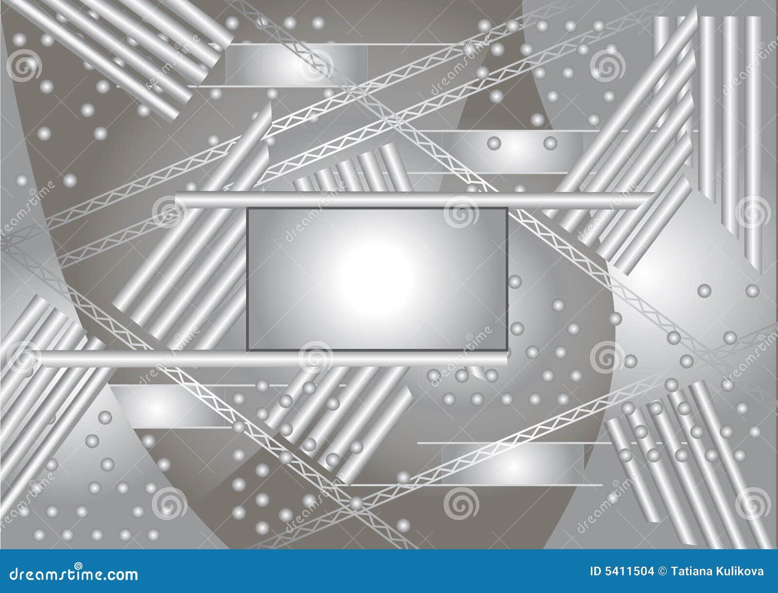 Wektor abstrakcyjne tło techniki cześć