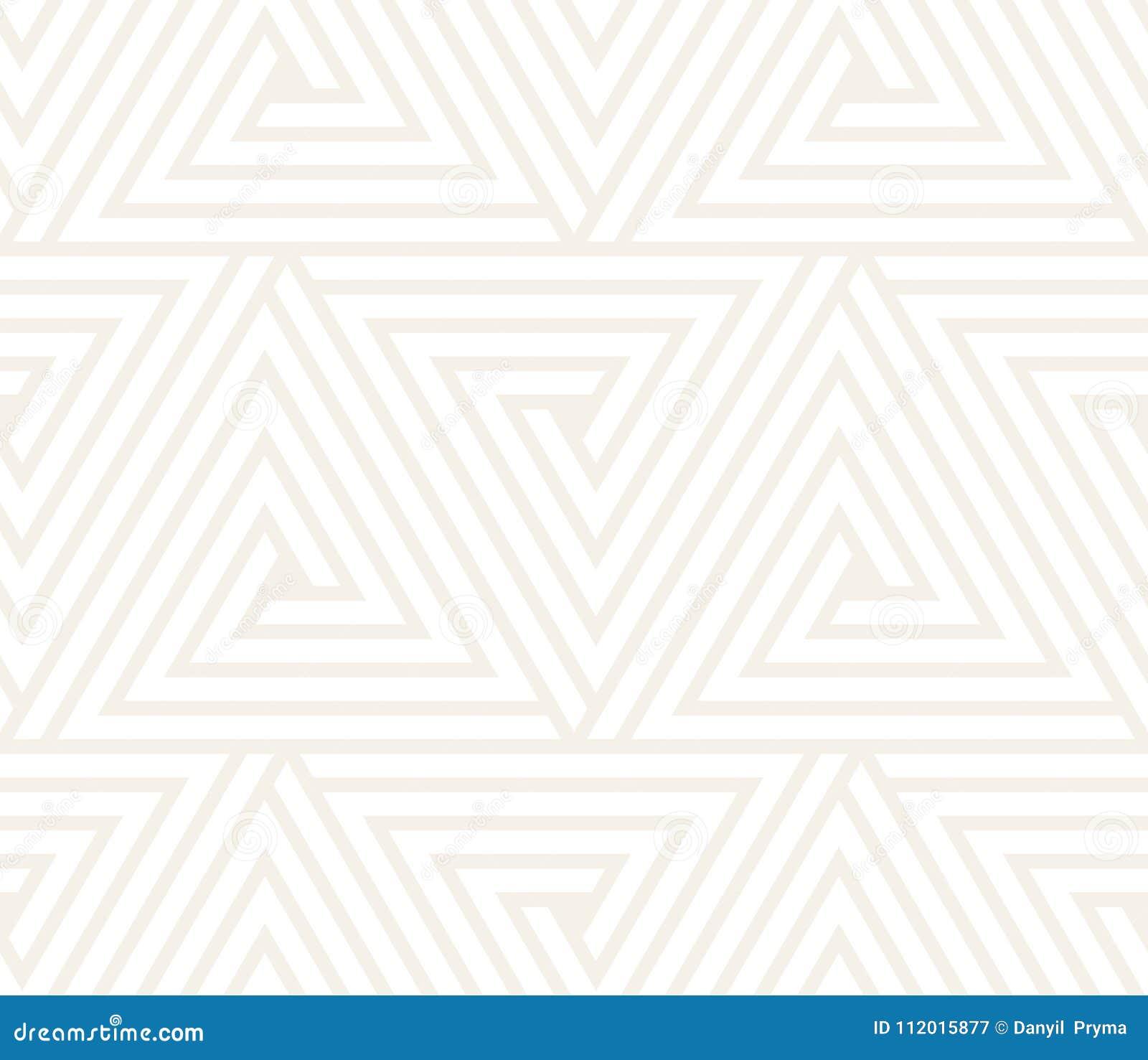 Wektor bezszwowy wzoru Nowożytna elegancka abstrakcjonistyczna tekstura Wielostrzałowy geometryczny taflować od pasiastych elemen