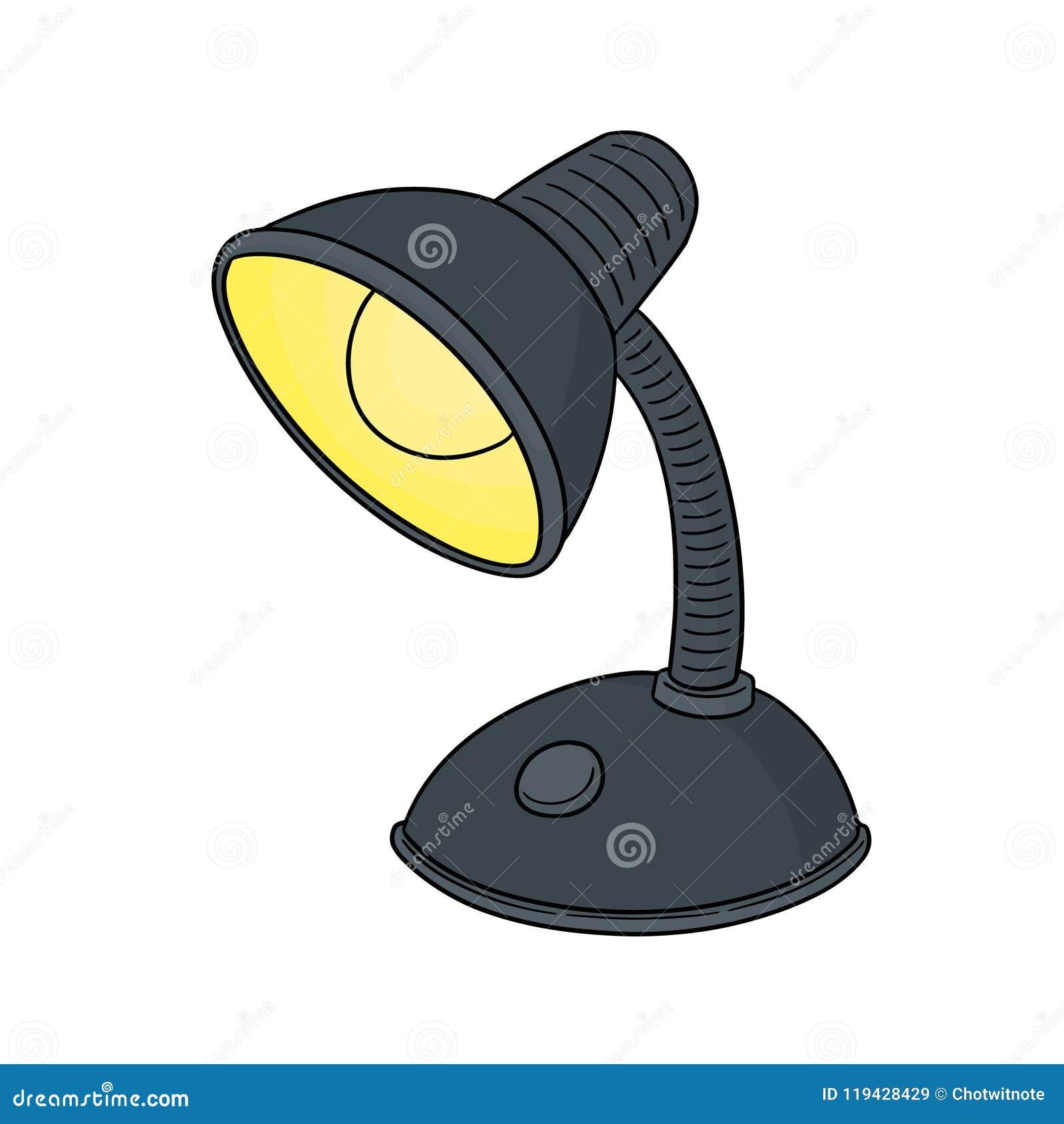Wektor lampa