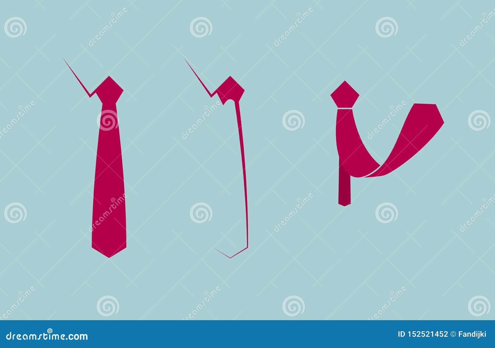 Wektor rysujący krawat