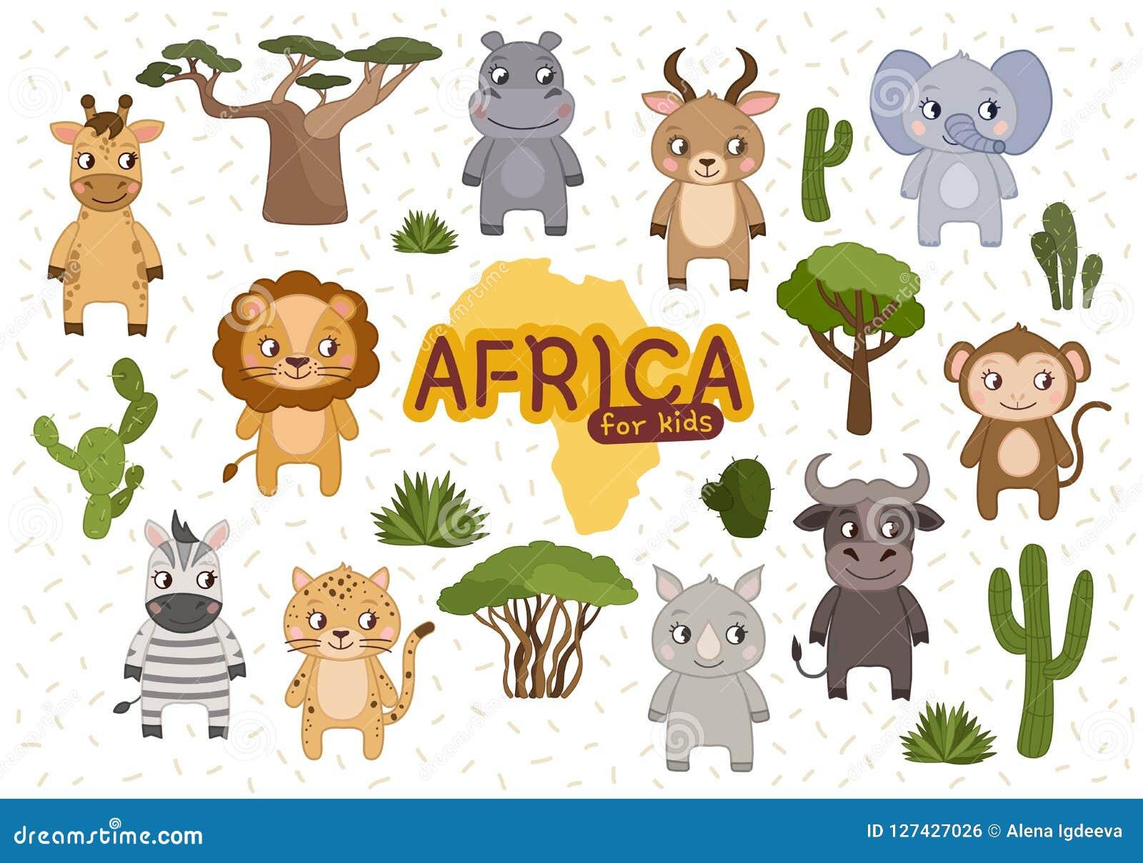 Wektor Ustalony Afryka