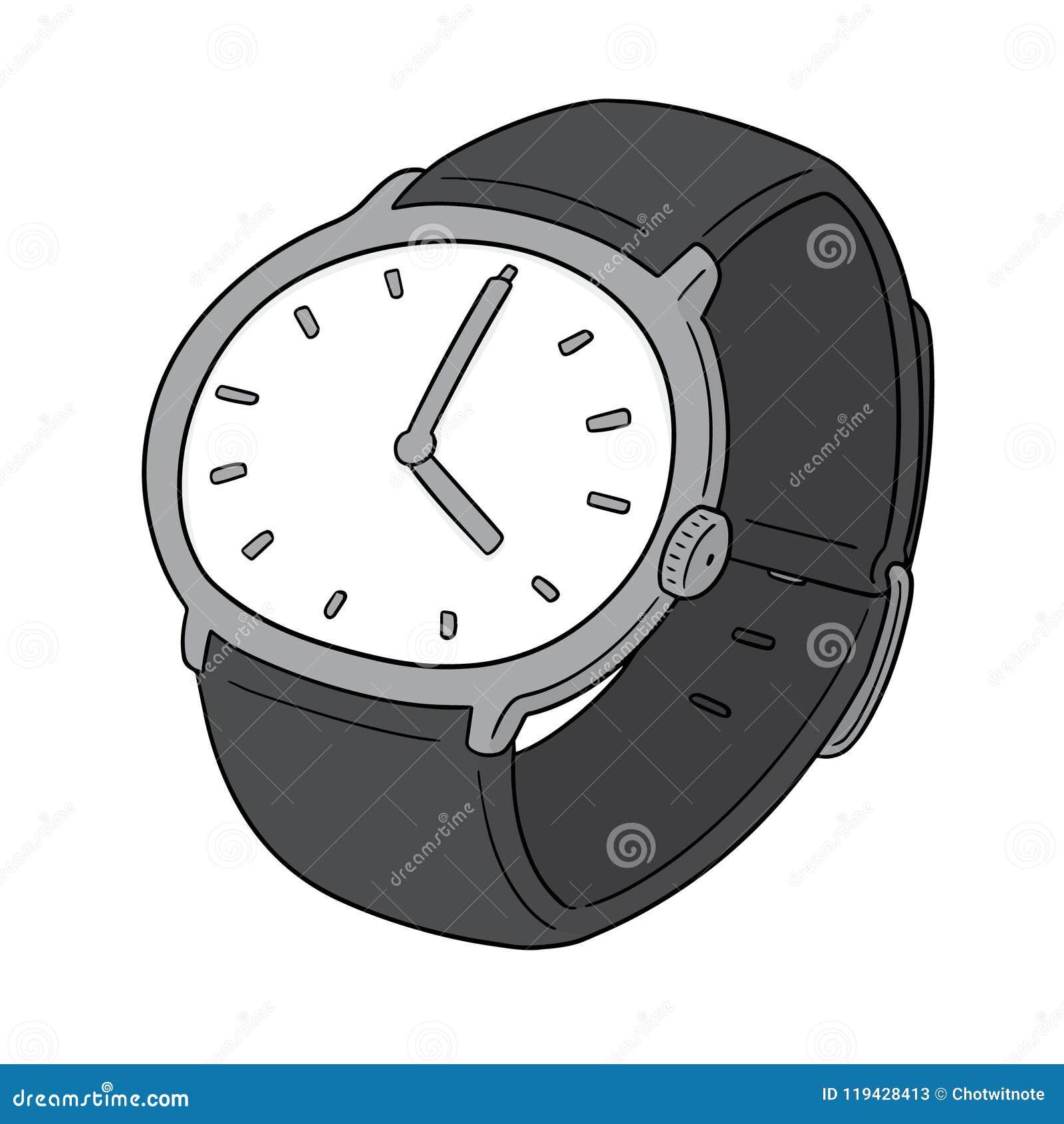 Wektor zegarek