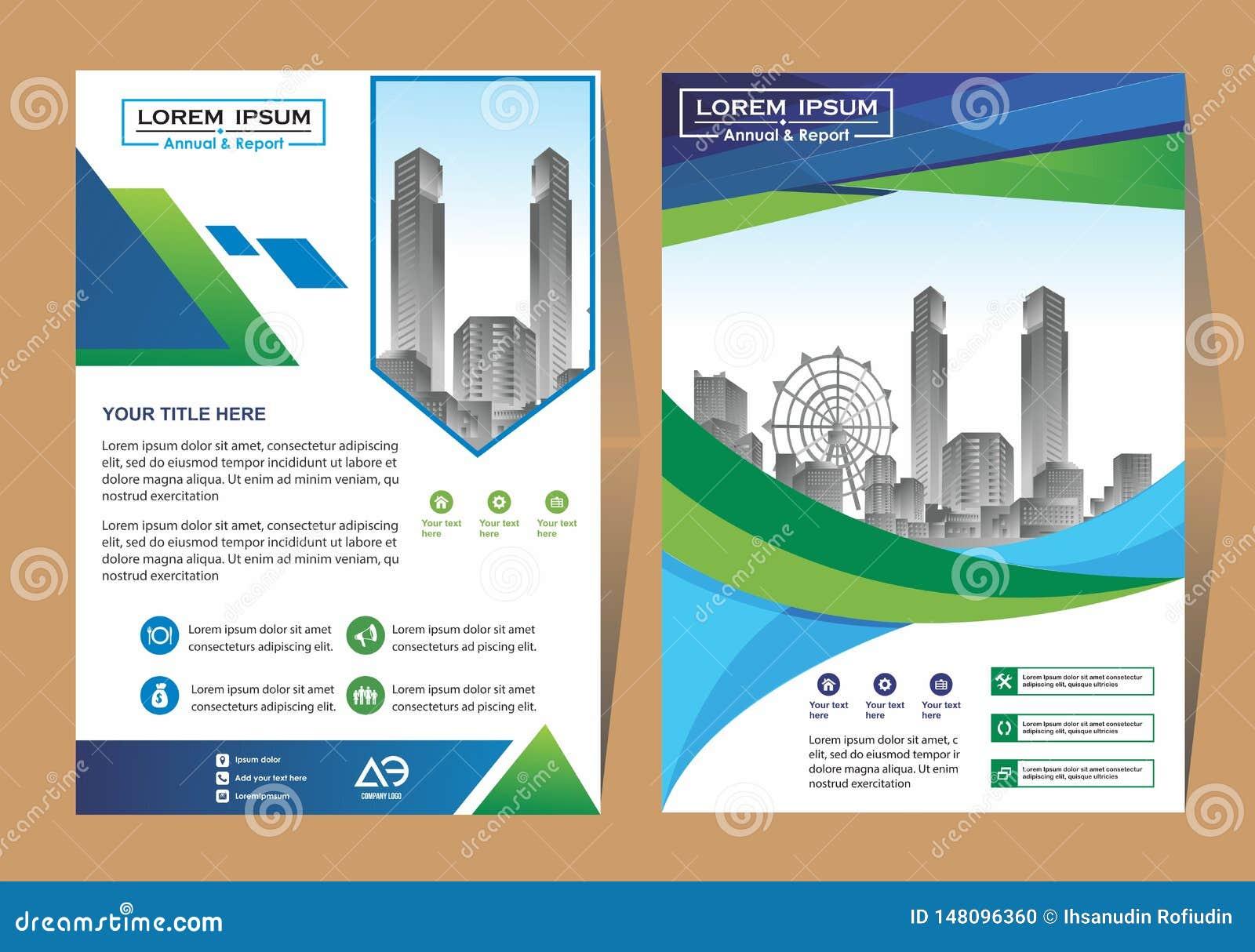 Wektorowa Biznesowa broszurka, ulotki projektuje szablonu, firma profilu, magazynu, plakata, sprawozdania rocznego, ksi??ki & bro