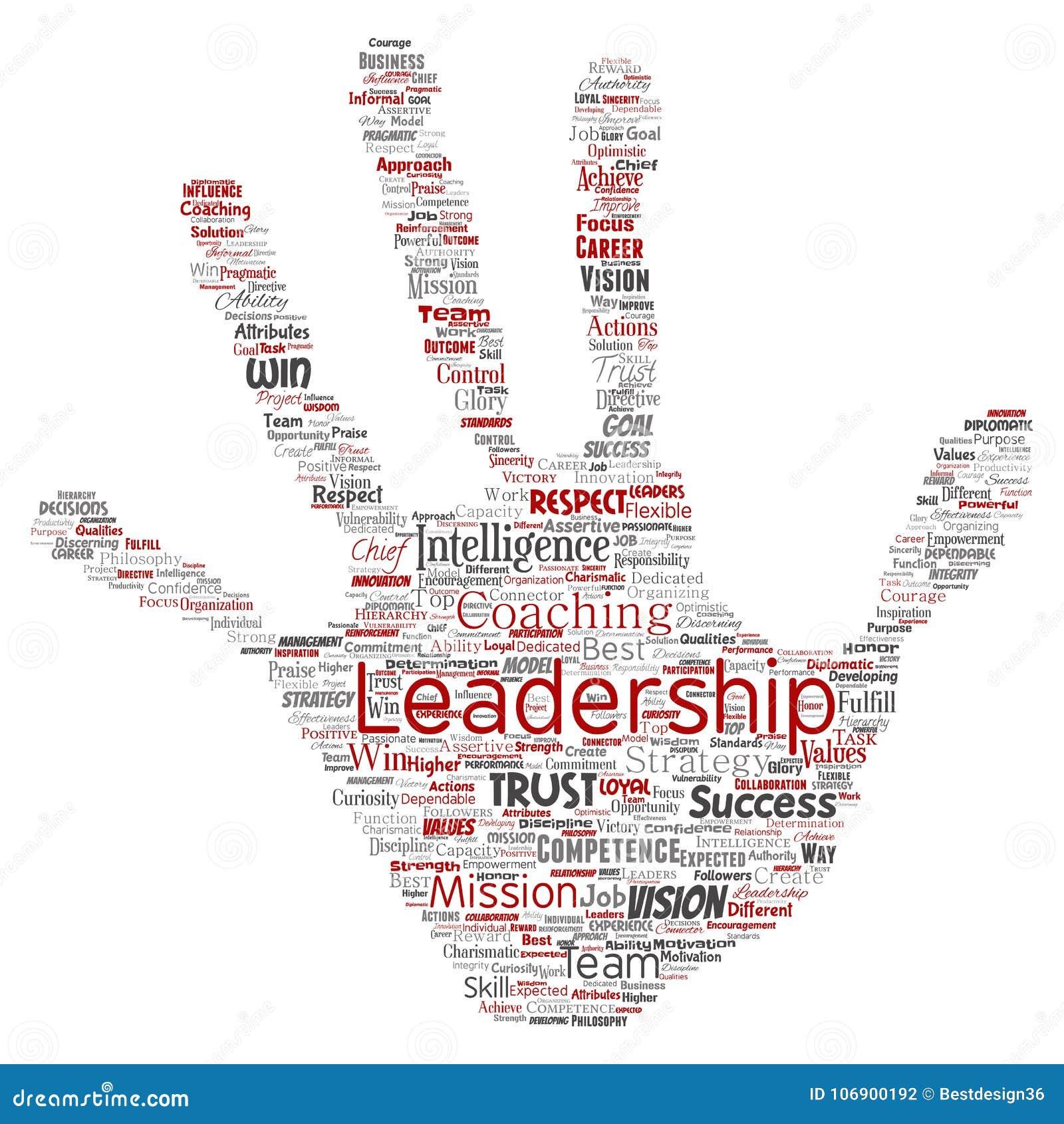 Wektorowa biznesowa przywódctwo strategia, zarządzanie