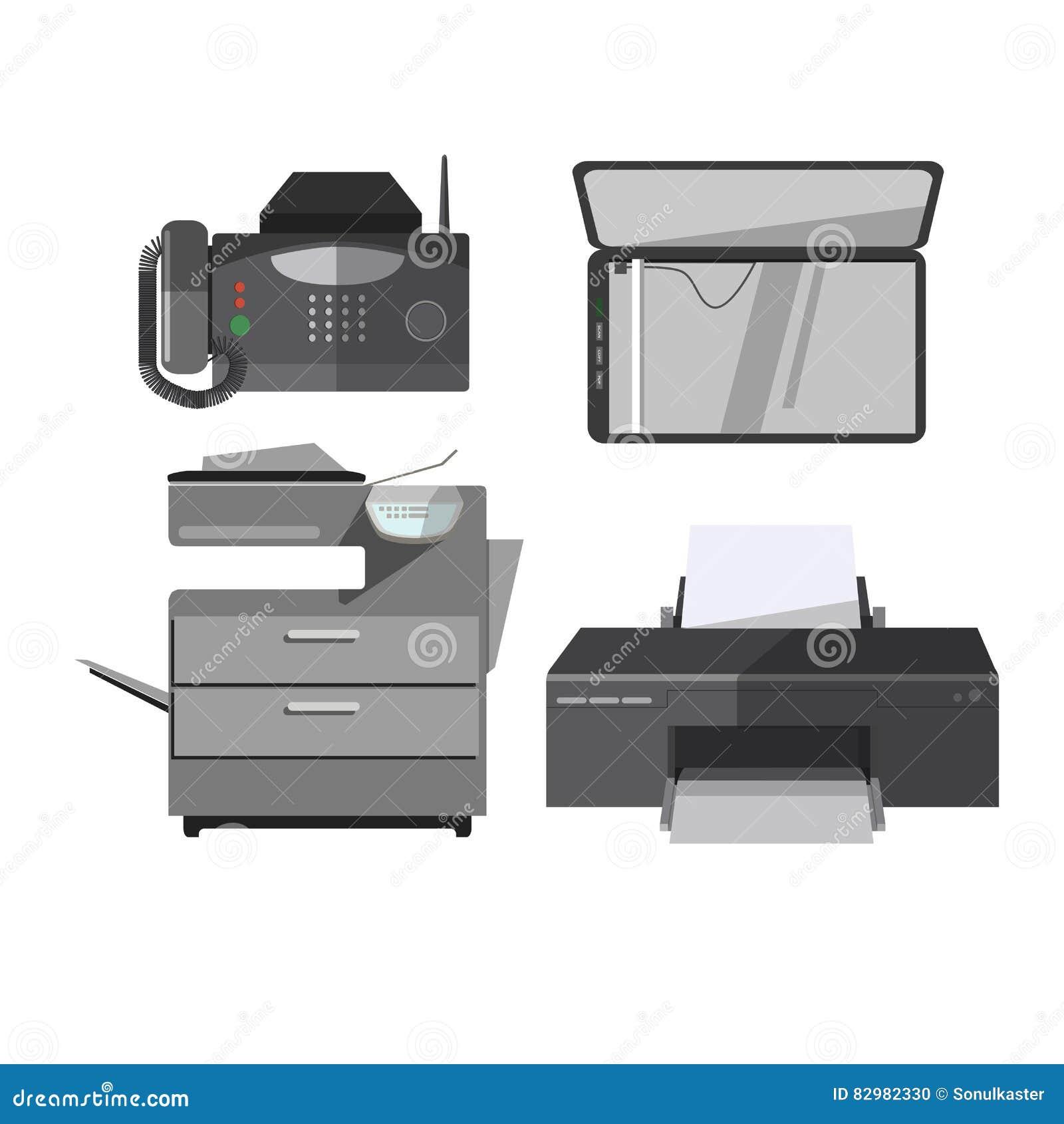 Wektorowa ikona biurowi narzędzia