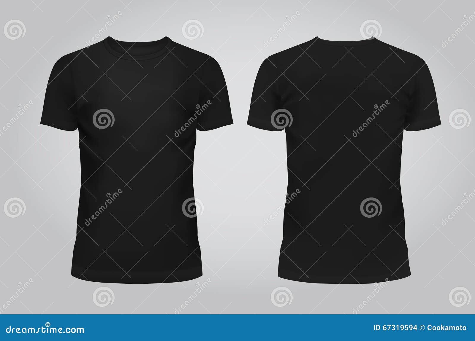 Wektorowa ilustracja koszulka, przód i plecy na lekkim tle projekta szablonu murzynów, zawiera