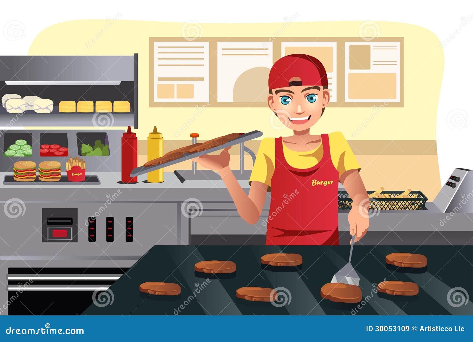 Gotować przy fastem food