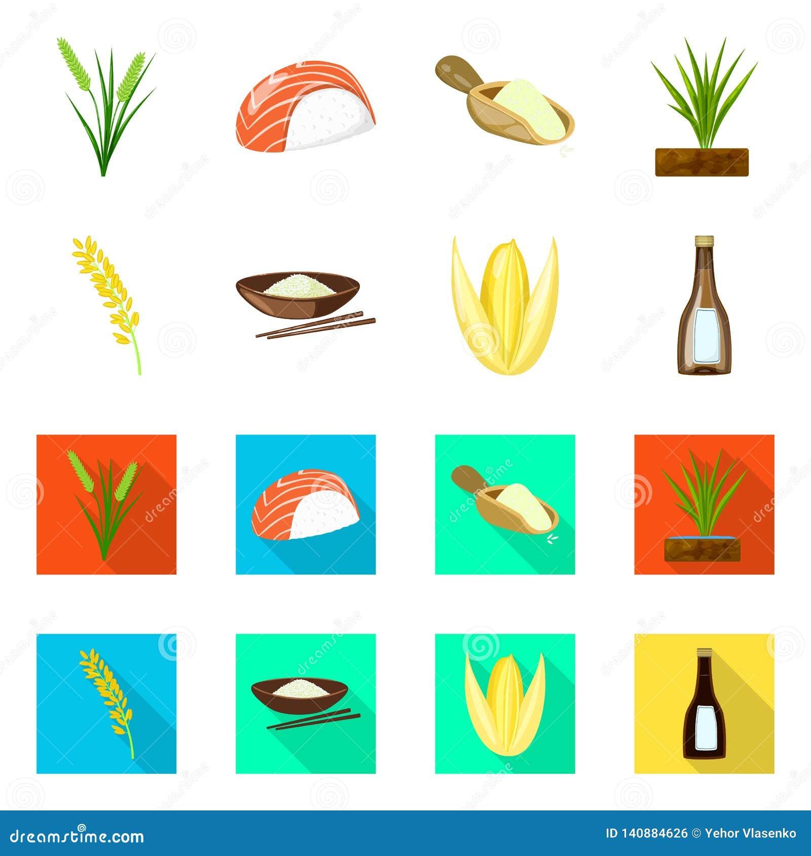 Wektorowa ilustracja uprawa i ekologiczny symbol Kolekcja uprawa i kulinarna wektorowa ikona dla zapasu