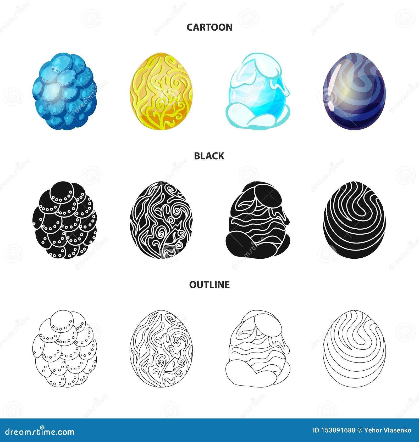 Wektorowa ilustracja zwierz?cy i prehistoryczny symbol Kolekcja zwierz?cy i ?liczny akcyjny symbol dla sieci