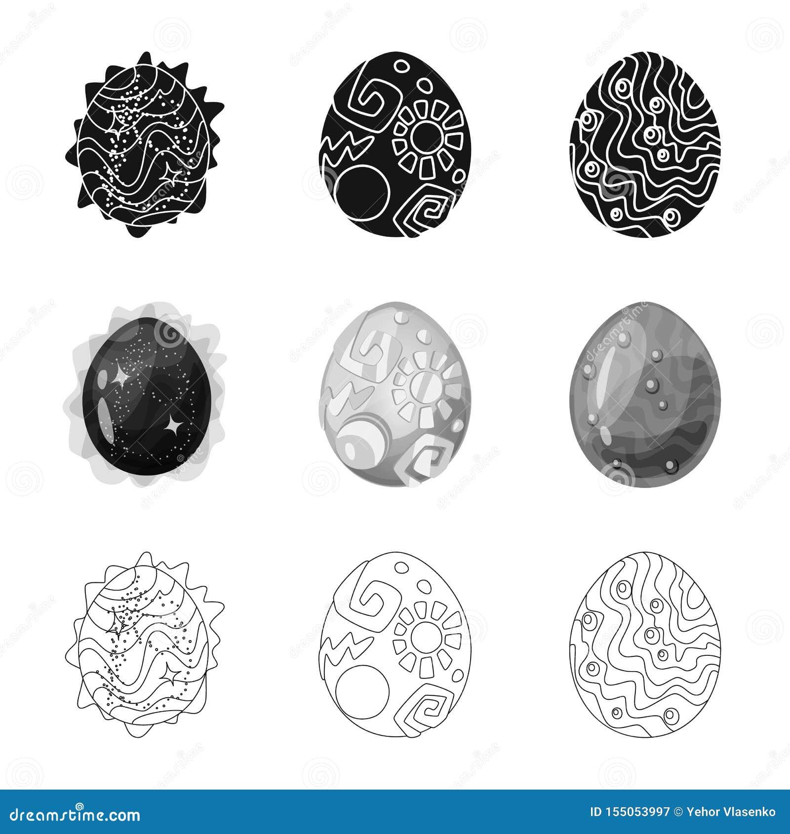 Wektorowa ilustracja zwierz?cy i prehistoryczny symbol Set zwierz?cy i ?liczny akcyjny symbol dla sieci