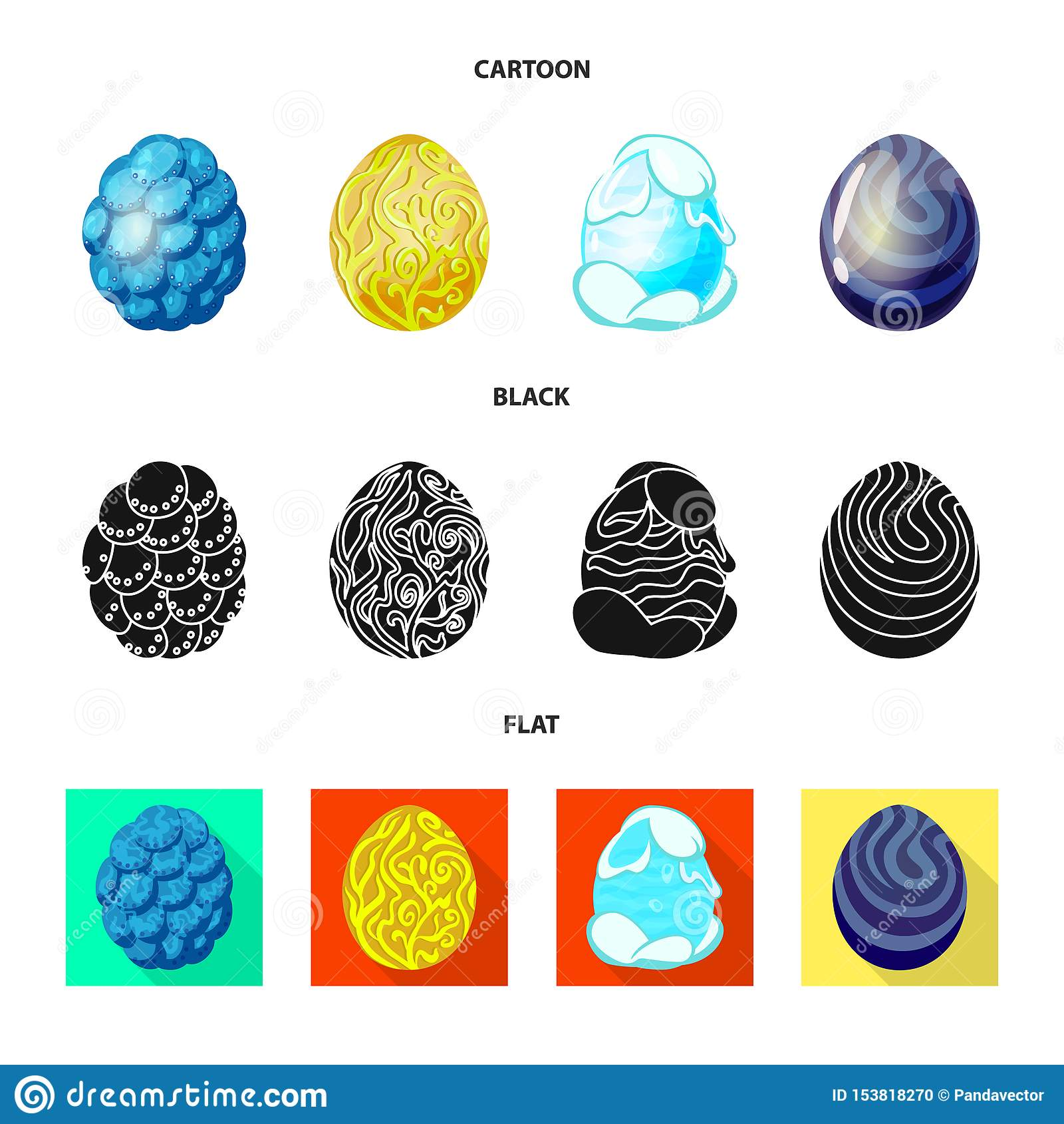 Wektorowa ilustracja zwierz?cy i prehistoryczny znak Kolekcja zwierz?ca i ?liczna akcyjna wektorowa ilustracja