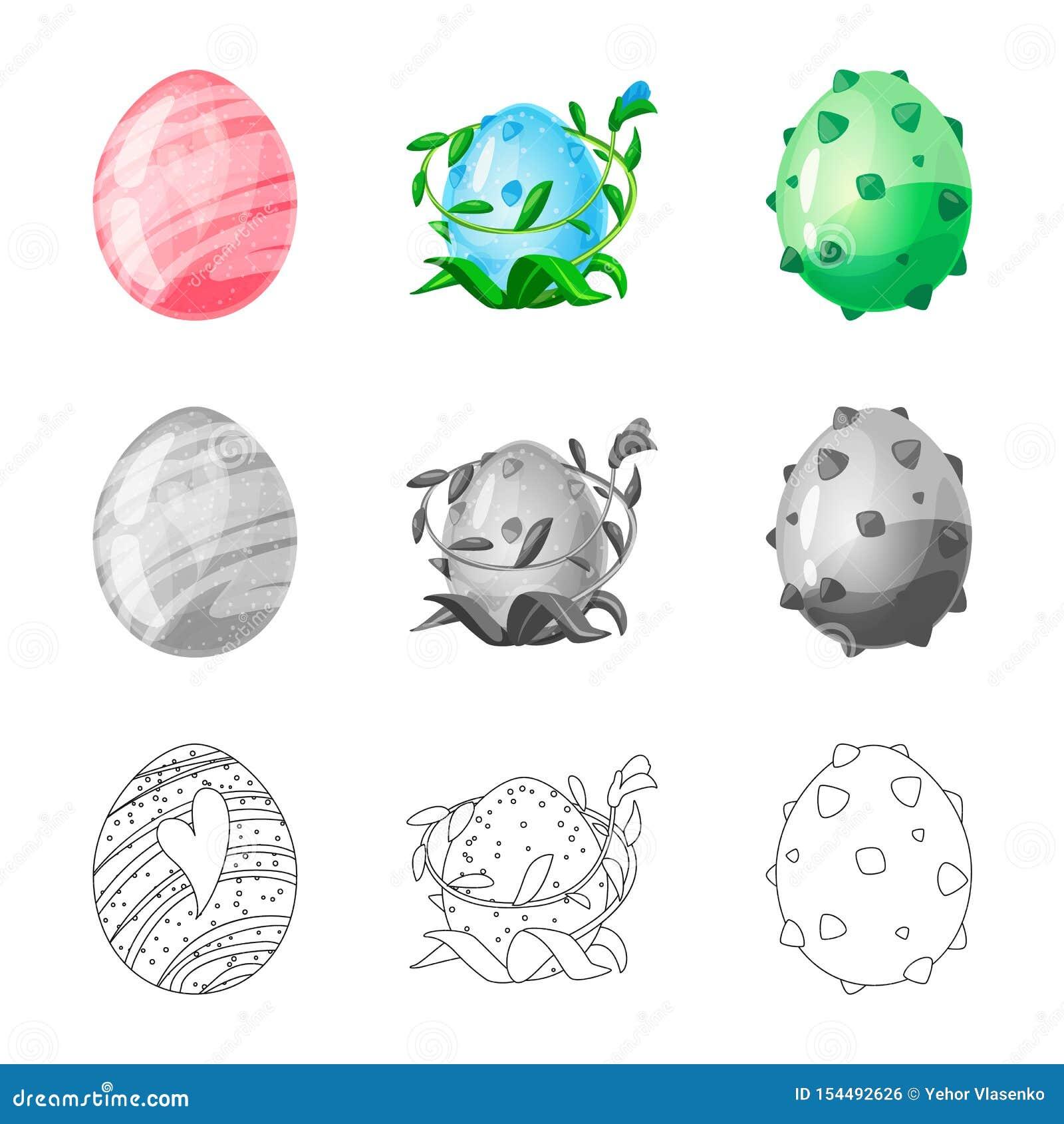 Wektorowa ilustracja zwierz?cy i prehistoryczny znak Set zwierz?cy i ?liczny akcyjny symbol dla sieci