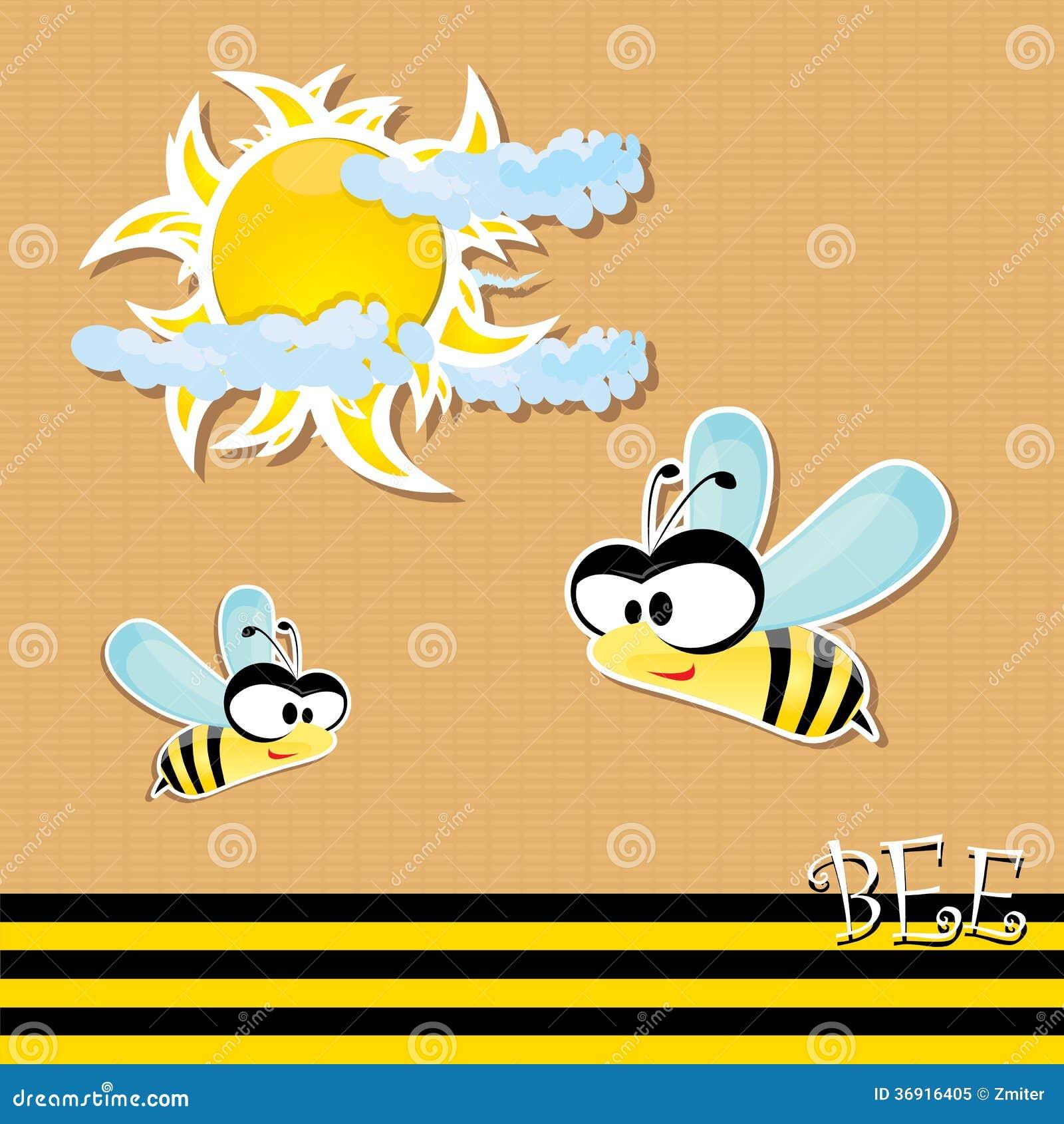 Wektorowa pszczoły ikona. wektorowa ilustracja.