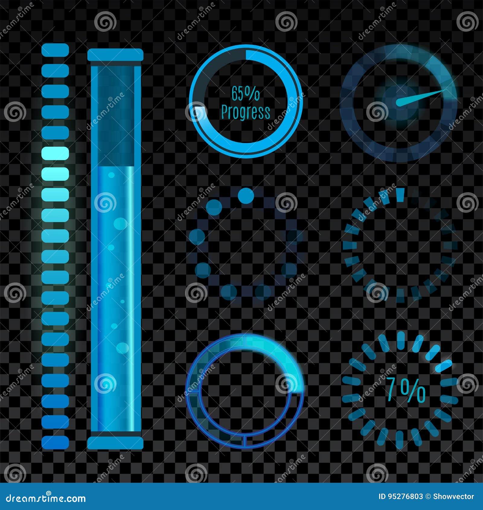 Wektorowe ikony dla mobilnego zastosowanie projekta sieci interneta interfejsu ściągania ładowniczych środków zapinają