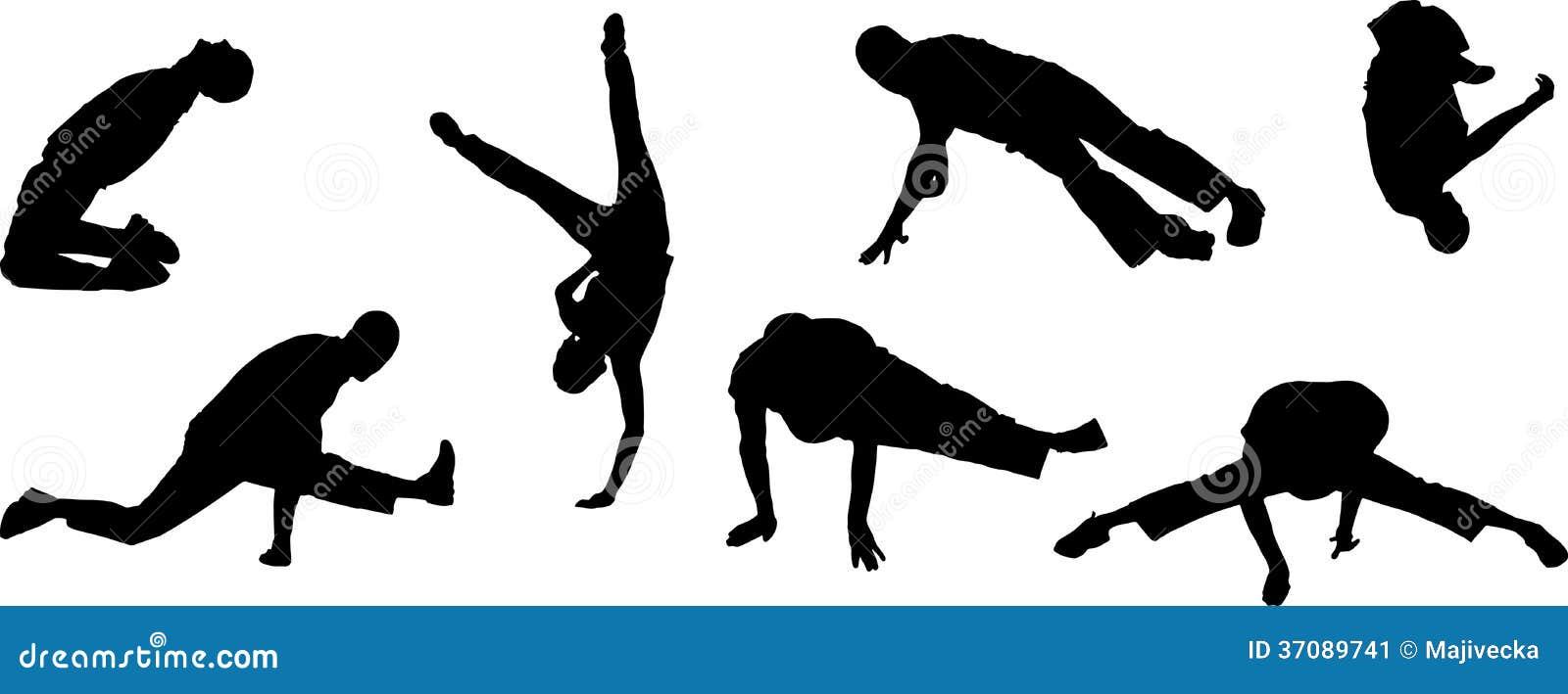 Download Wektorowe Sylwetki Tanów Ludzie. Ilustracja Wektor - Ilustracja złożonej z tancerz, femaleness: 37089741