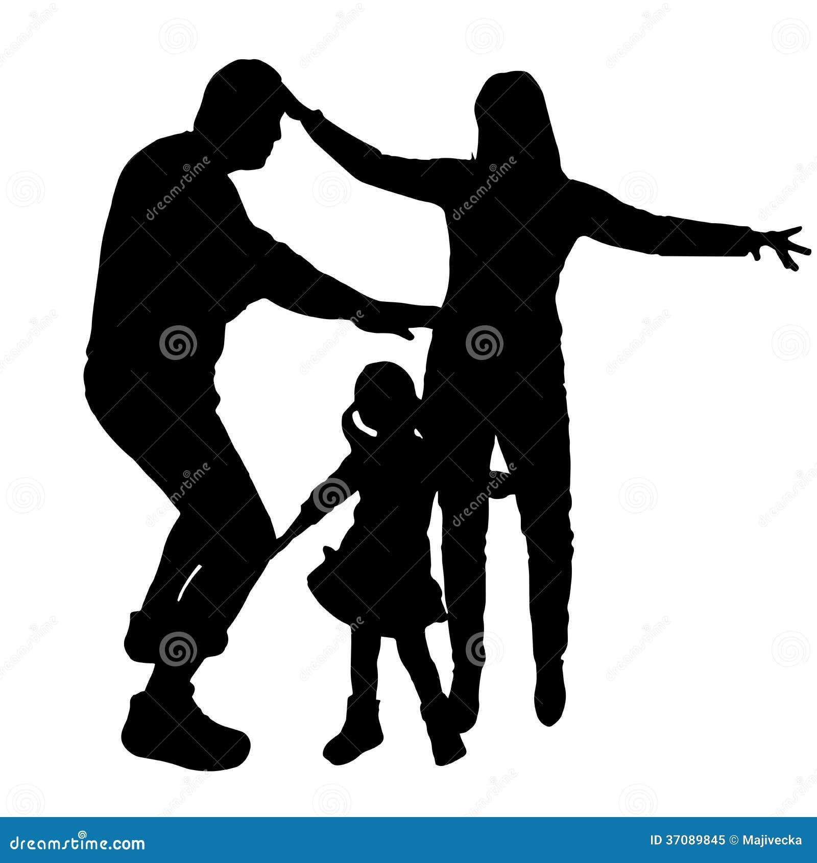 Download Wektorowe Sylwetki Tanów Ludzie. Ilustracja Wektor - Ilustracja złożonej z dyskoteka, dzieciak: 37089845