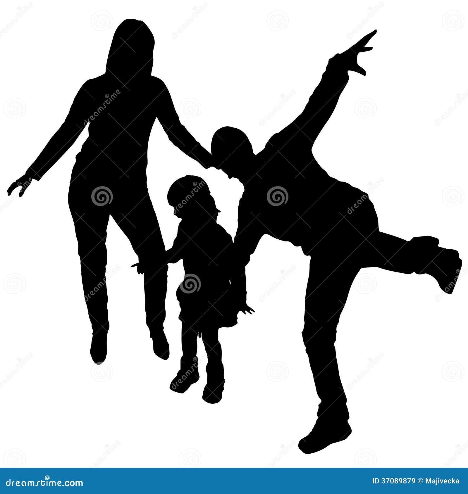 Download Wektorowe Sylwetki Tanów Ludzie. Ilustracja Wektor - Ilustracja złożonej z biodro, tancerze: 37089879