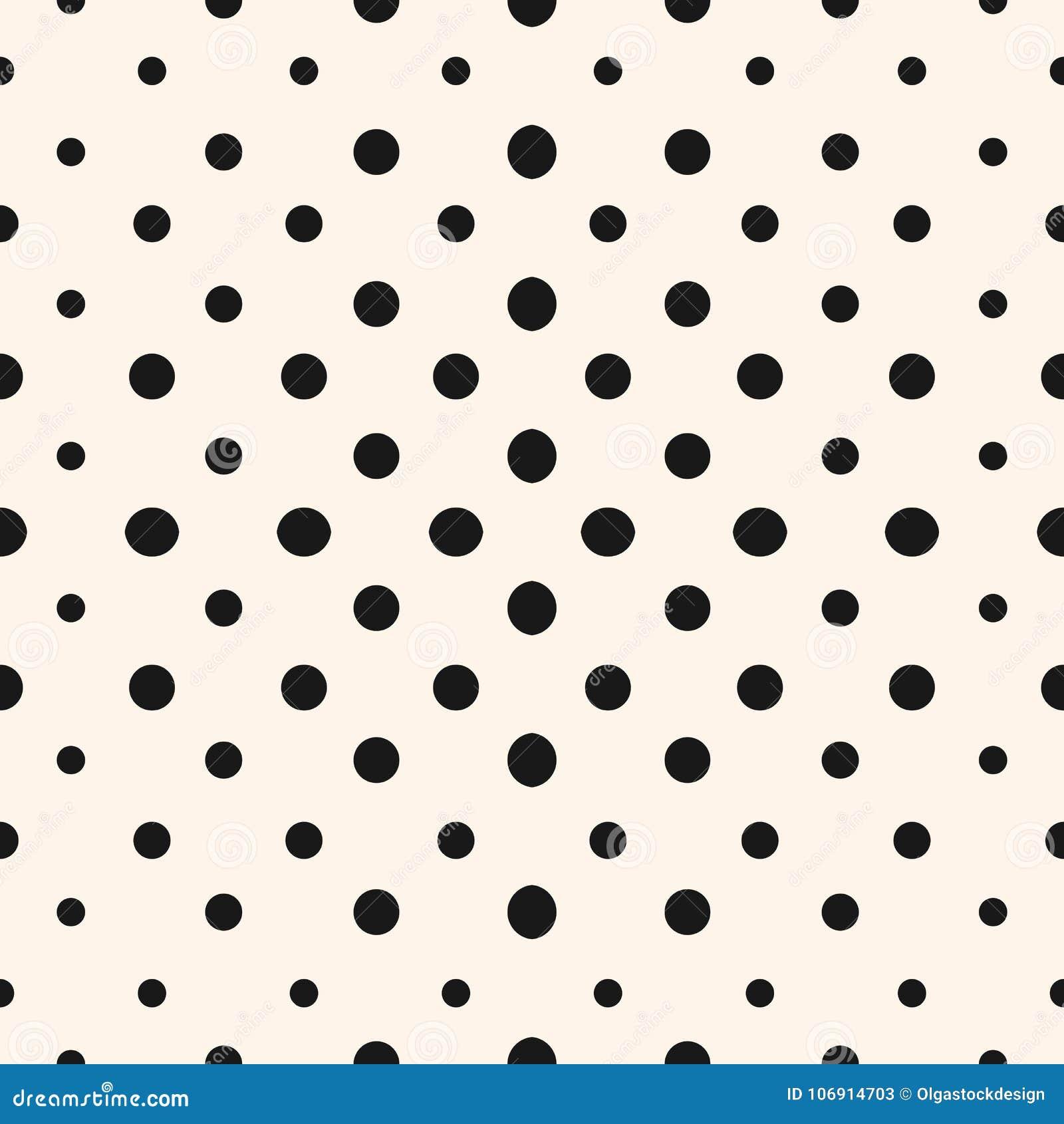 Wektorowego geometrycznego halftone bezszwowy wzór z okręgami