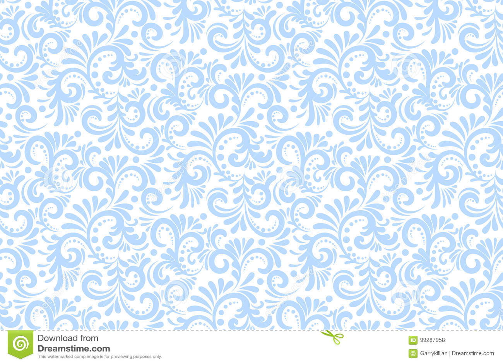 Wektorowego kwiatu bezszwowy deseniowy tło Elegancka tekstura dla tło Klasyczny luksusowy staromodny kwiecisty